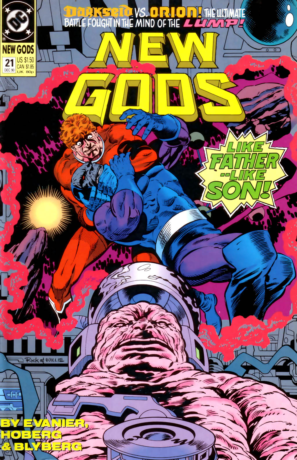 The New Gods (1989) 21 Page 1