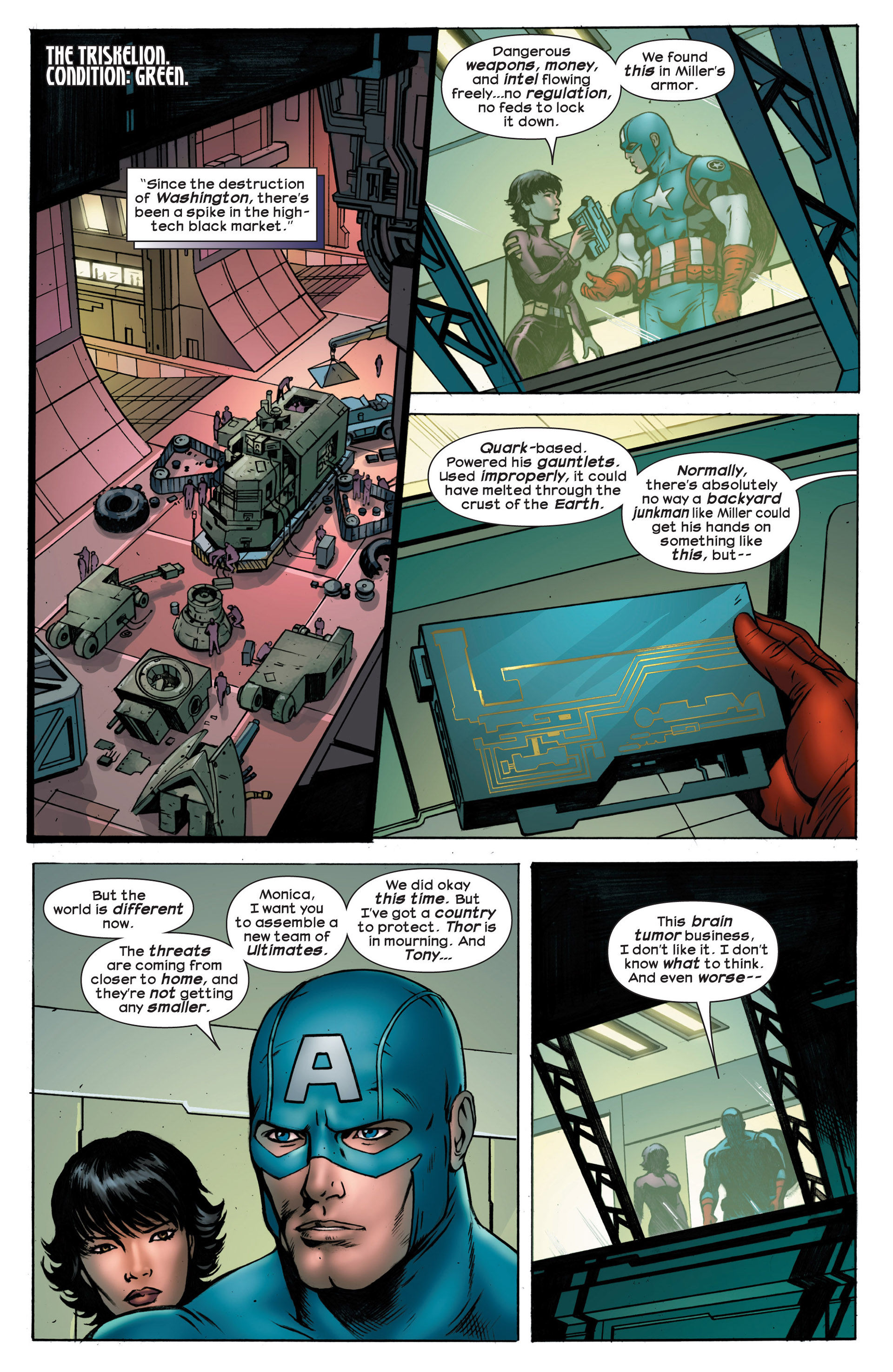 Read online Ultimate Comics Ultimates comic -  Issue #18.1 - 21
