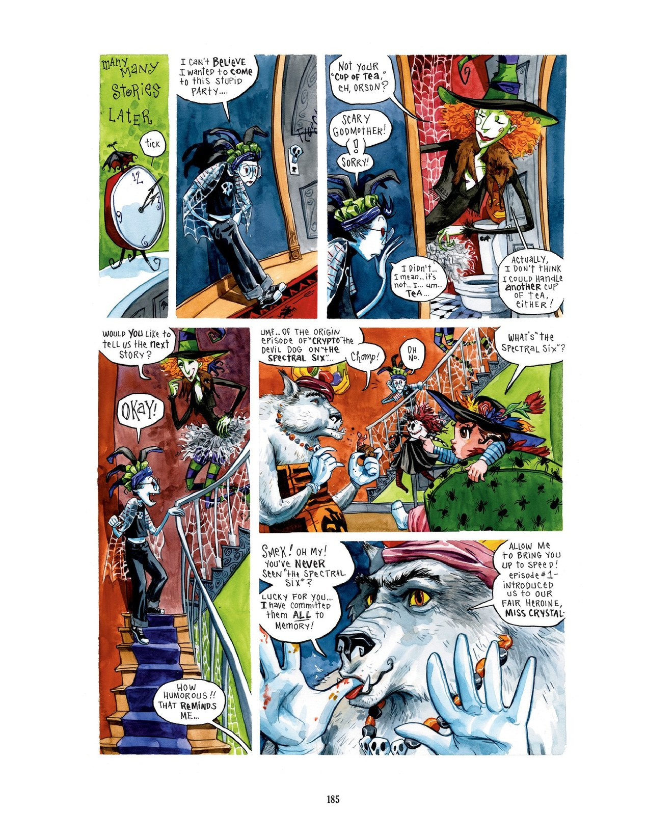 Read online Scary Godmother comic -  Issue # TPB - 185