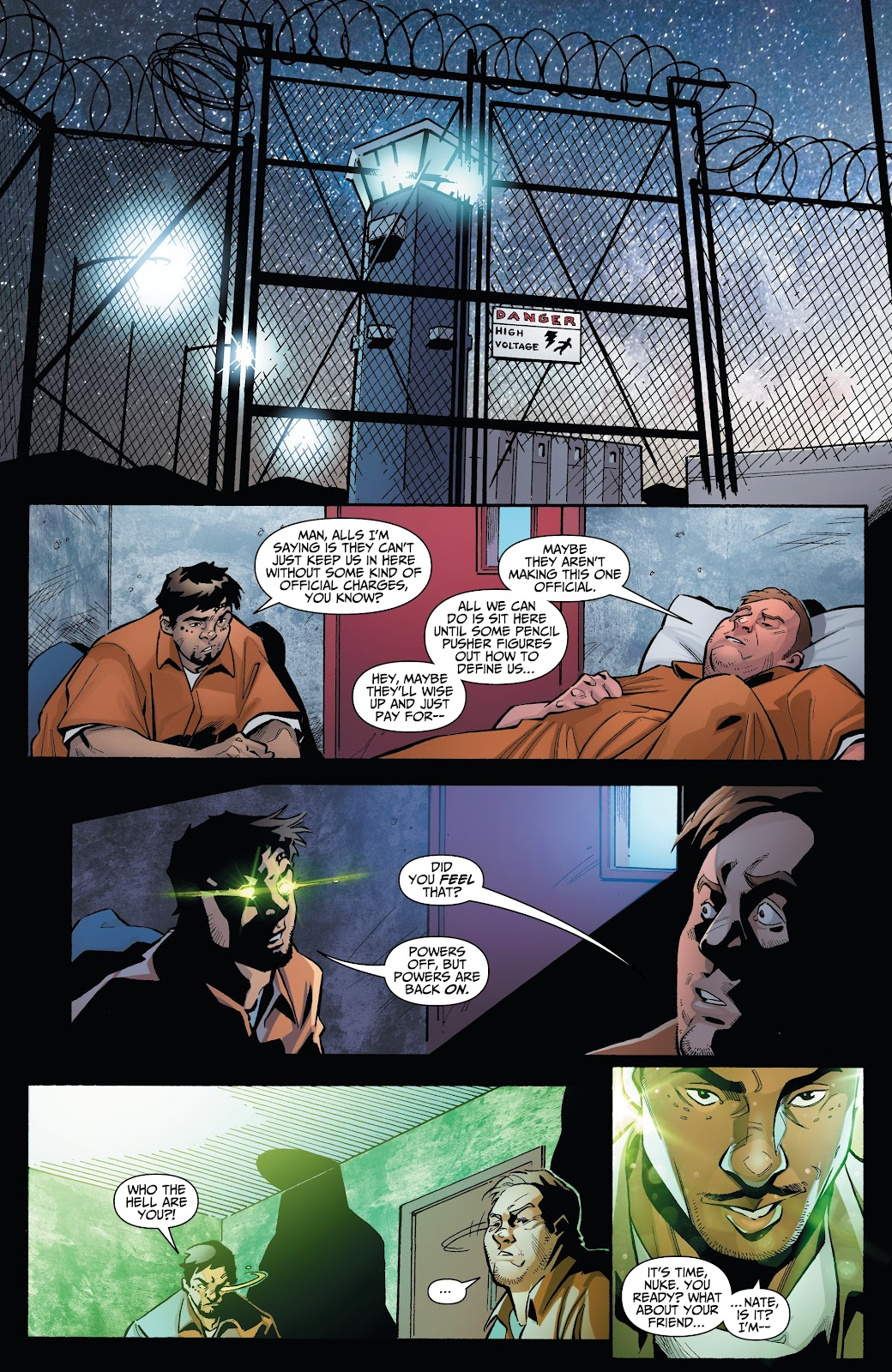Read online Incidentals comic -  Issue #15 - 3