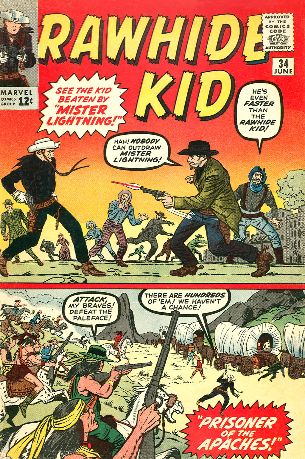 The Rawhide Kid (1955) issue 34 - Page 1