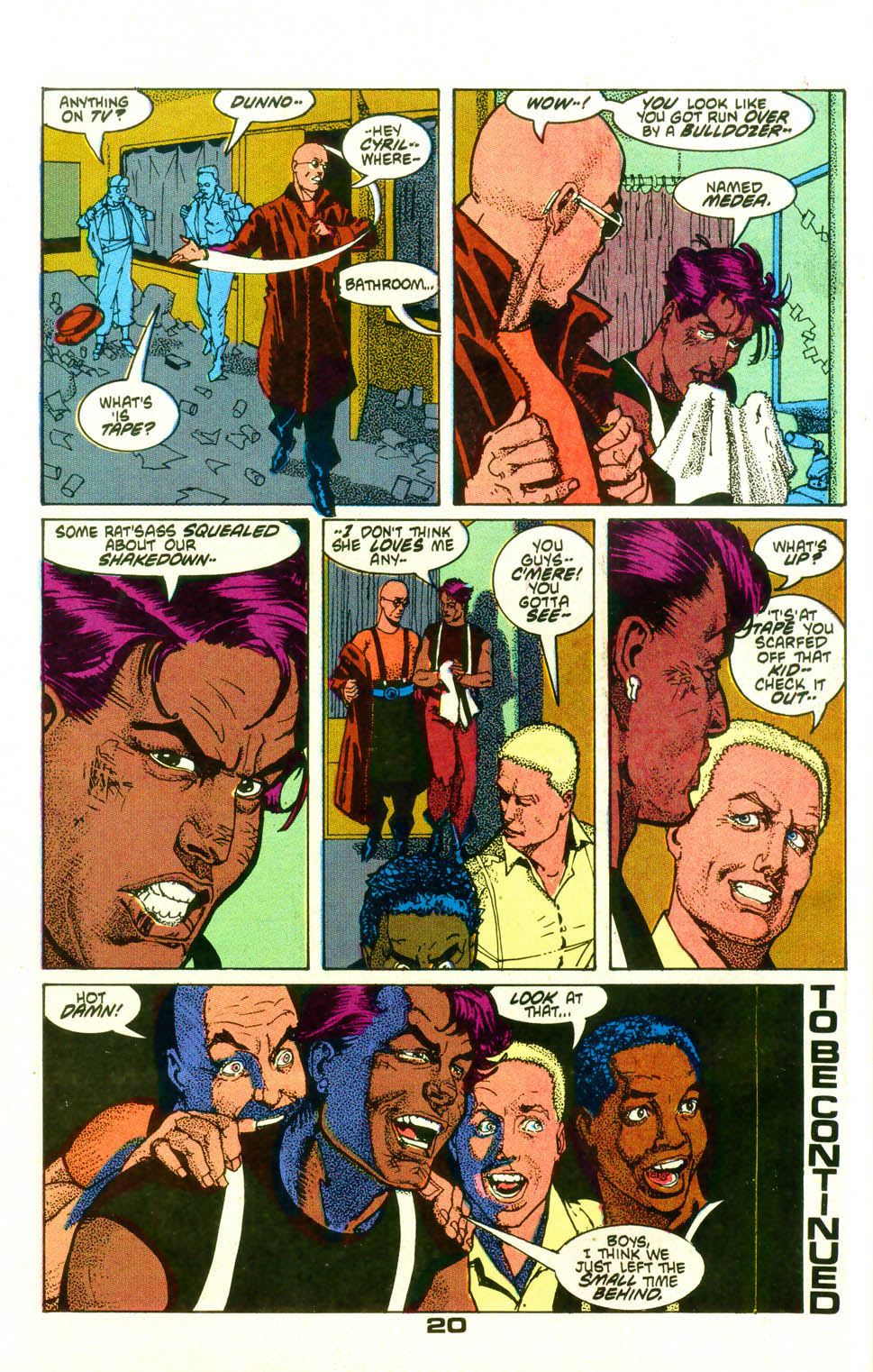 Read online American Flagg! comic -  Issue #19 - 23