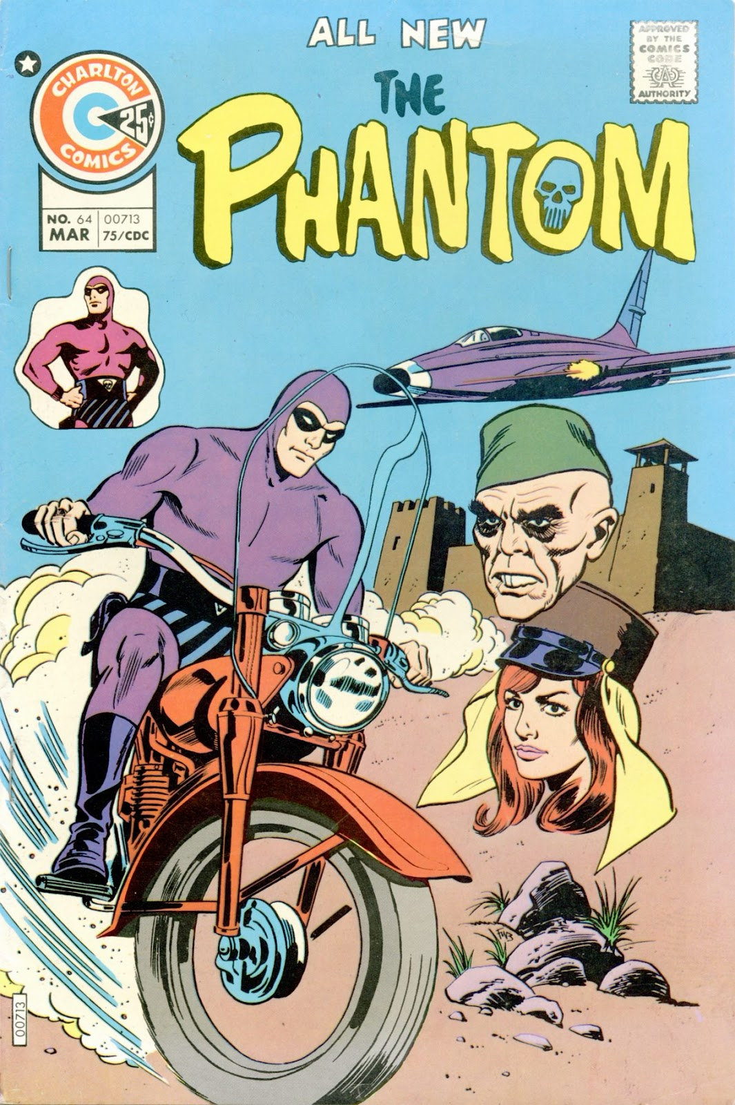 The Phantom (1969) issue 64 - Page 1