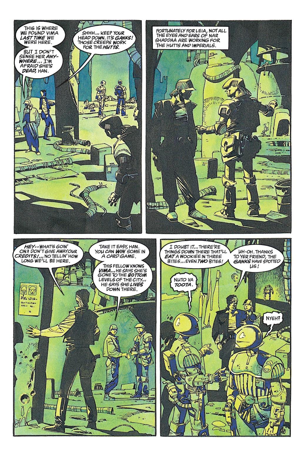 Read online Star Wars: Dark Empire Trilogy comic -  Issue # TPB (Part 2) - 92