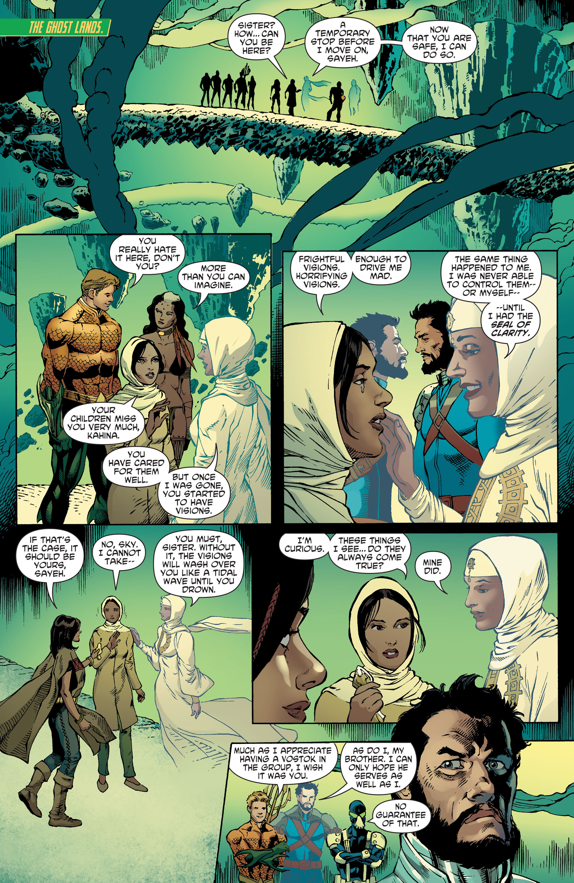 Read online Aquaman and the Others comic -  Issue #5 - 19