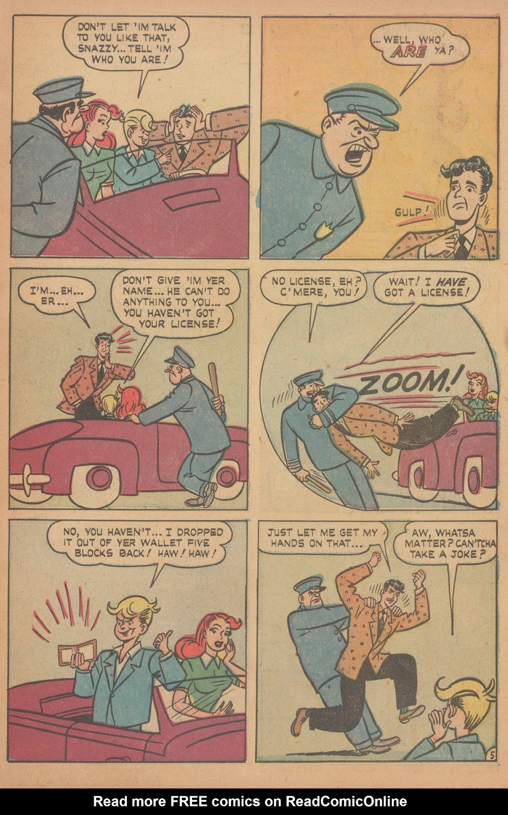 Read online Nellie The Nurse (1945) comic -  Issue #21 - 7