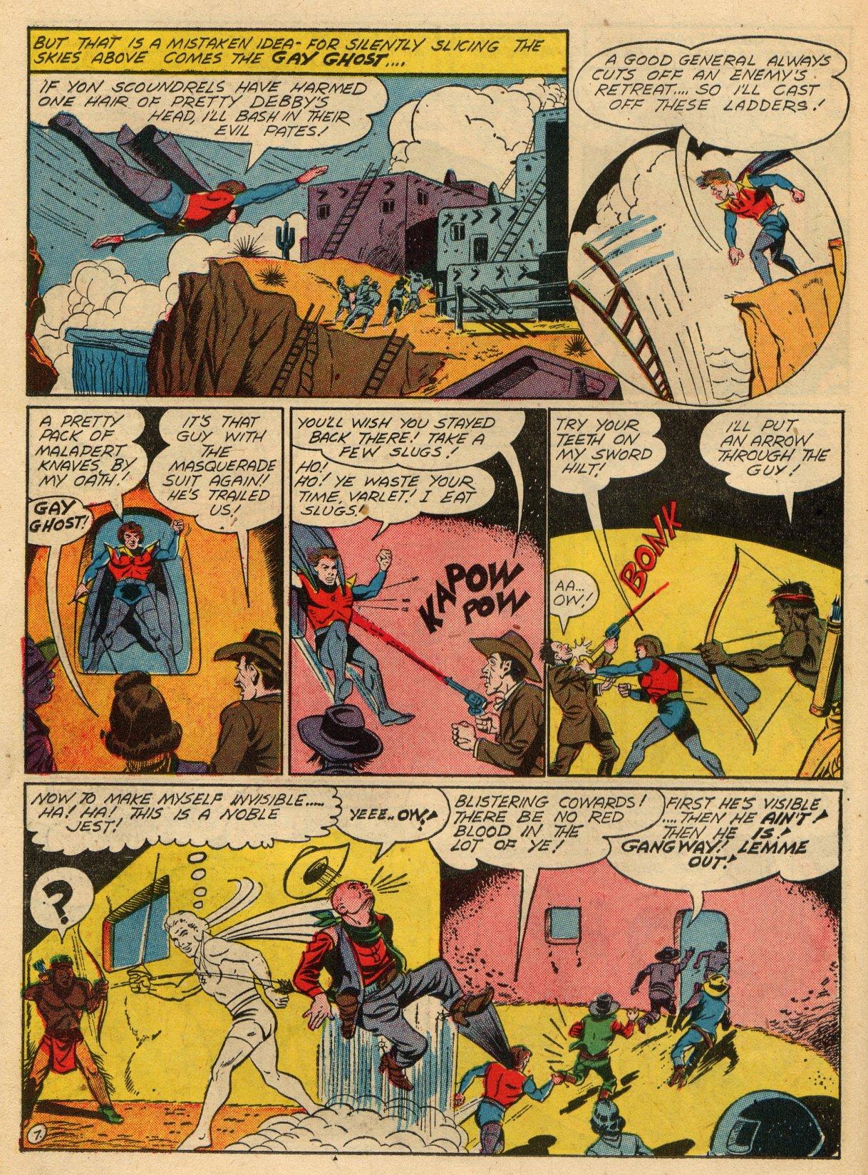 Read online Sensation (Mystery) Comics comic -  Issue #22 - 37
