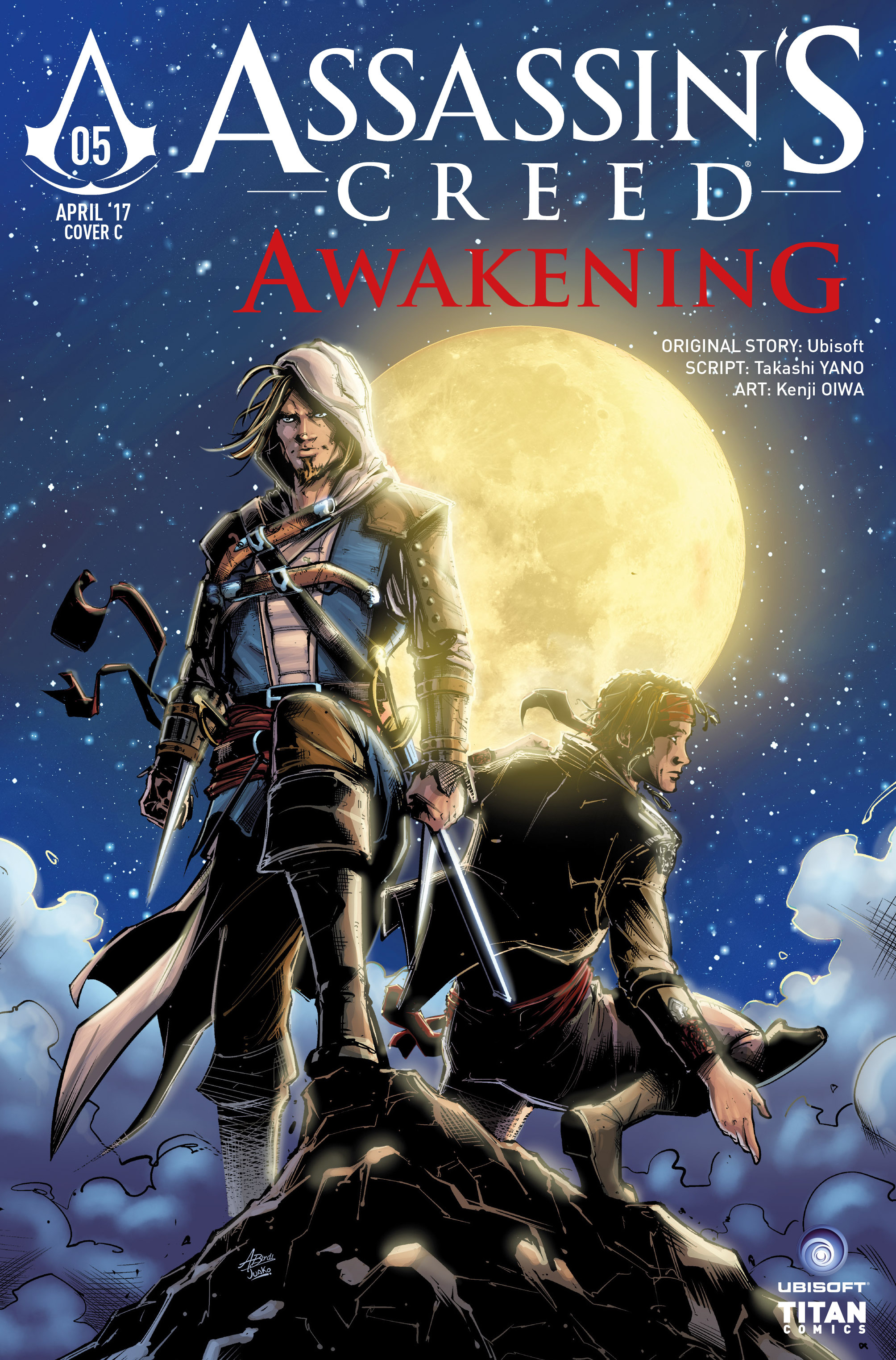 Read online Assassin's Creed: Awakening comic -  Issue #5 - 39