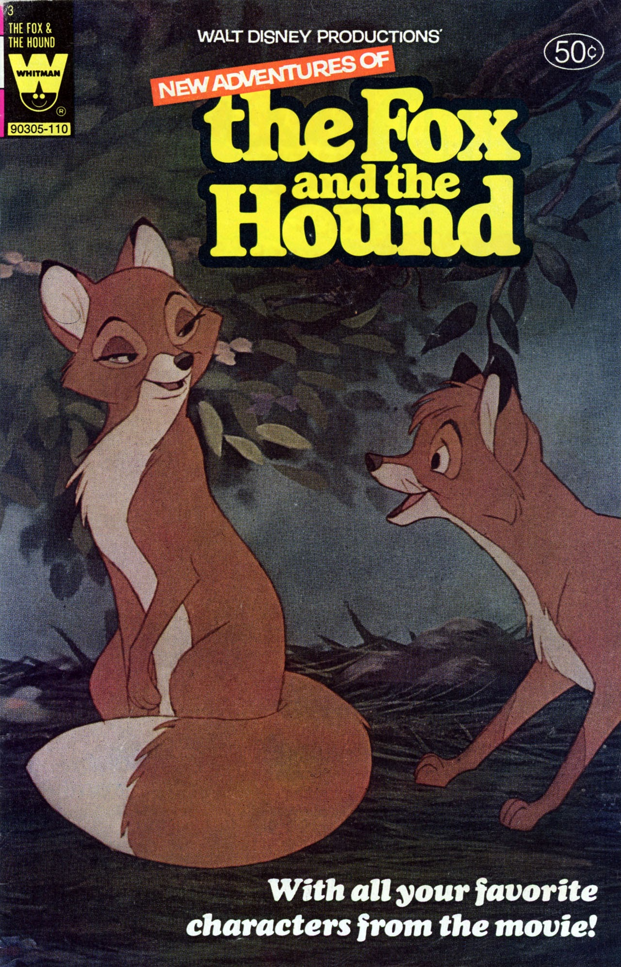 Walt Disney Productions The Fox and the Hound issue 3 - Page 1