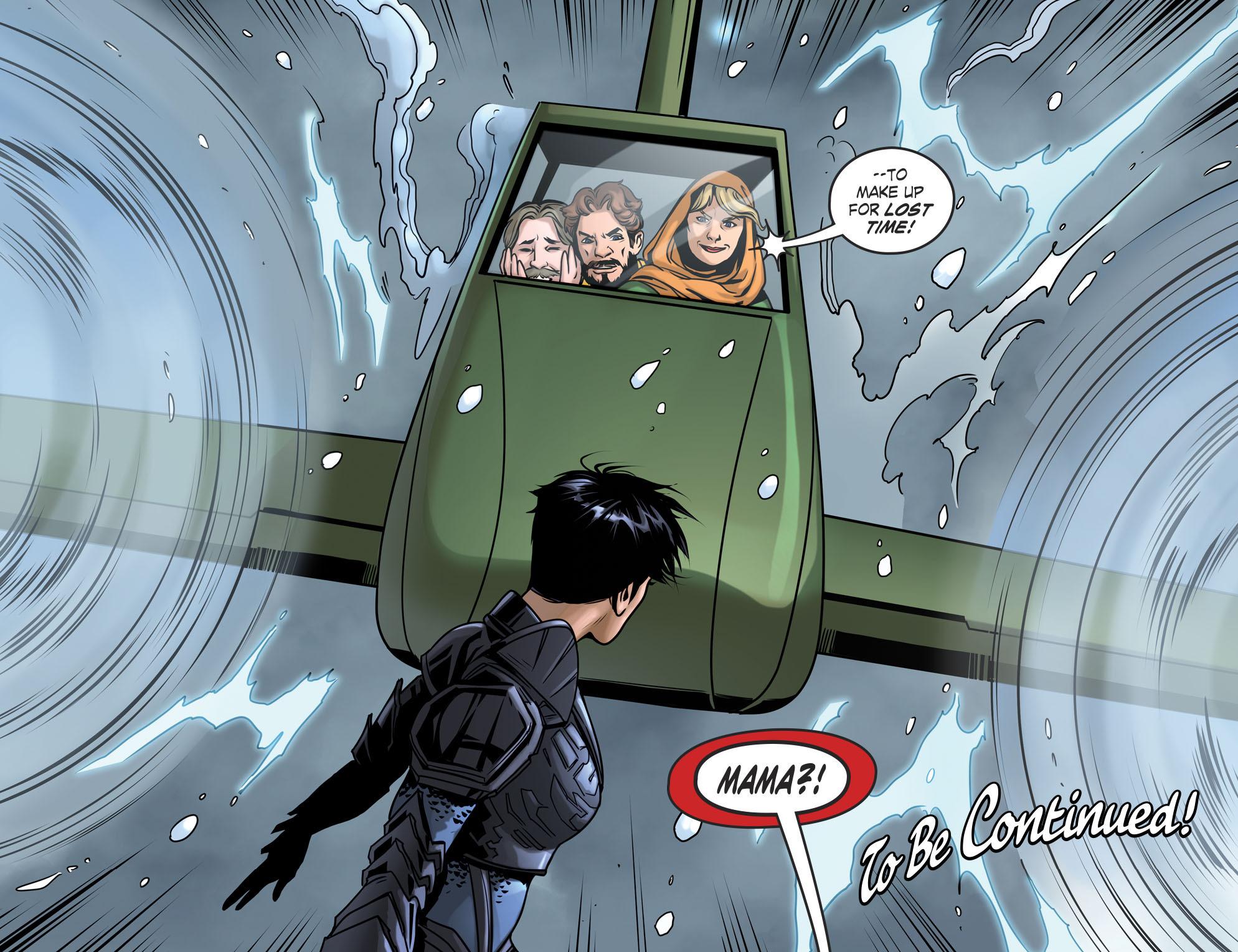 Read online DC Comics: Bombshells comic -  Issue #94 - 23