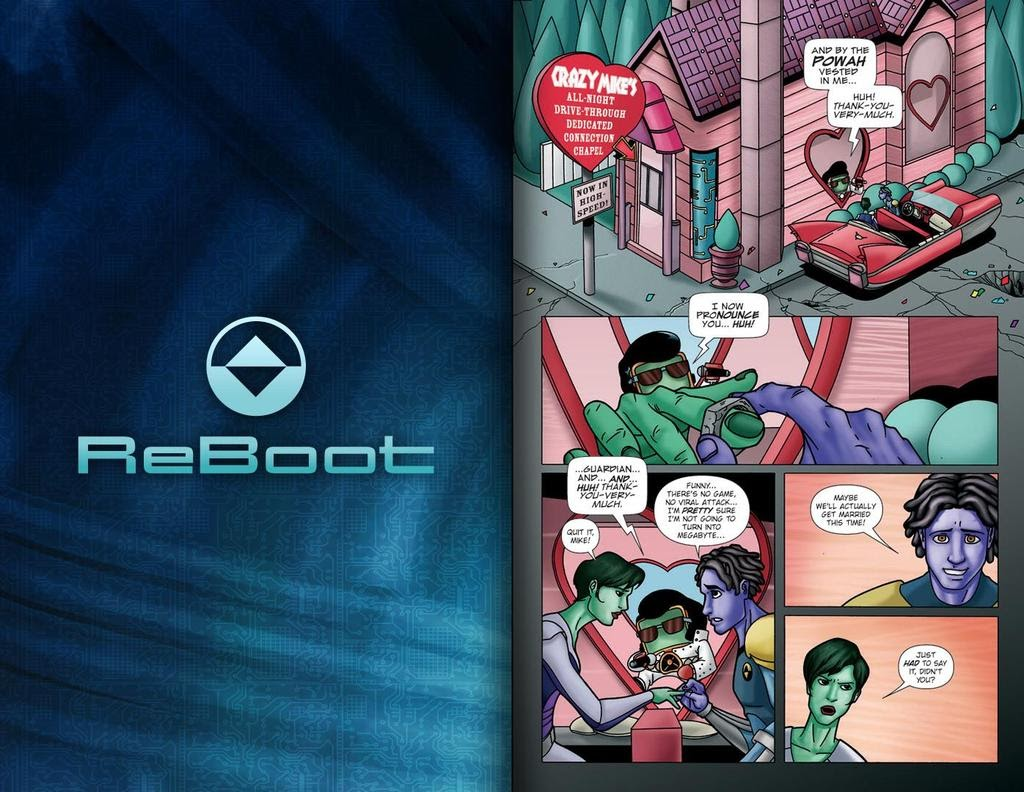 Read online ReBoot: Paradigms Lost comic -  Issue # Full - 14