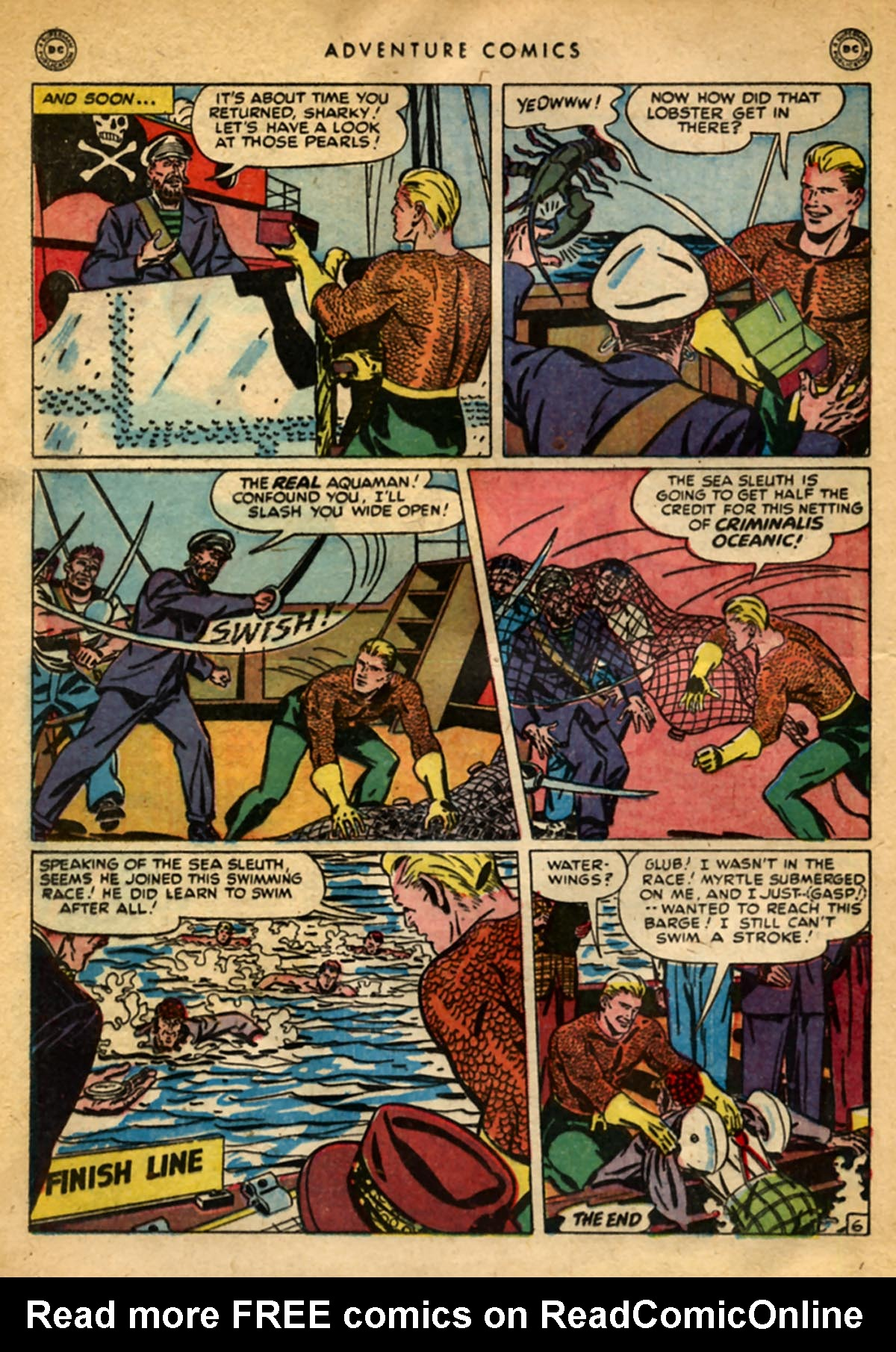 Read online Adventure Comics (1938) comic -  Issue #141 - 34