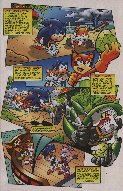Read online Sonic Universe comic -  Issue #1 - 8