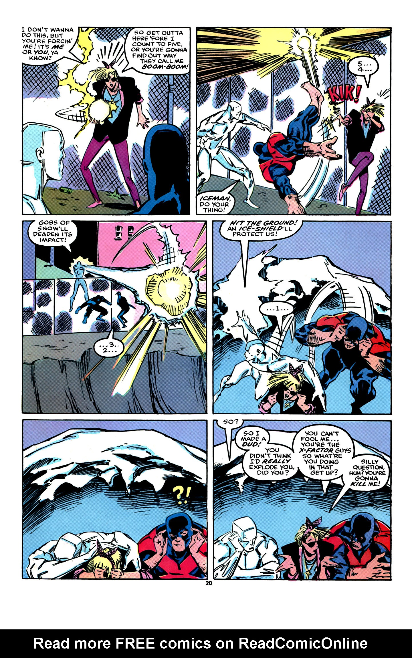 Read online X-Factor (1986) comic -  Issue #12 - 21