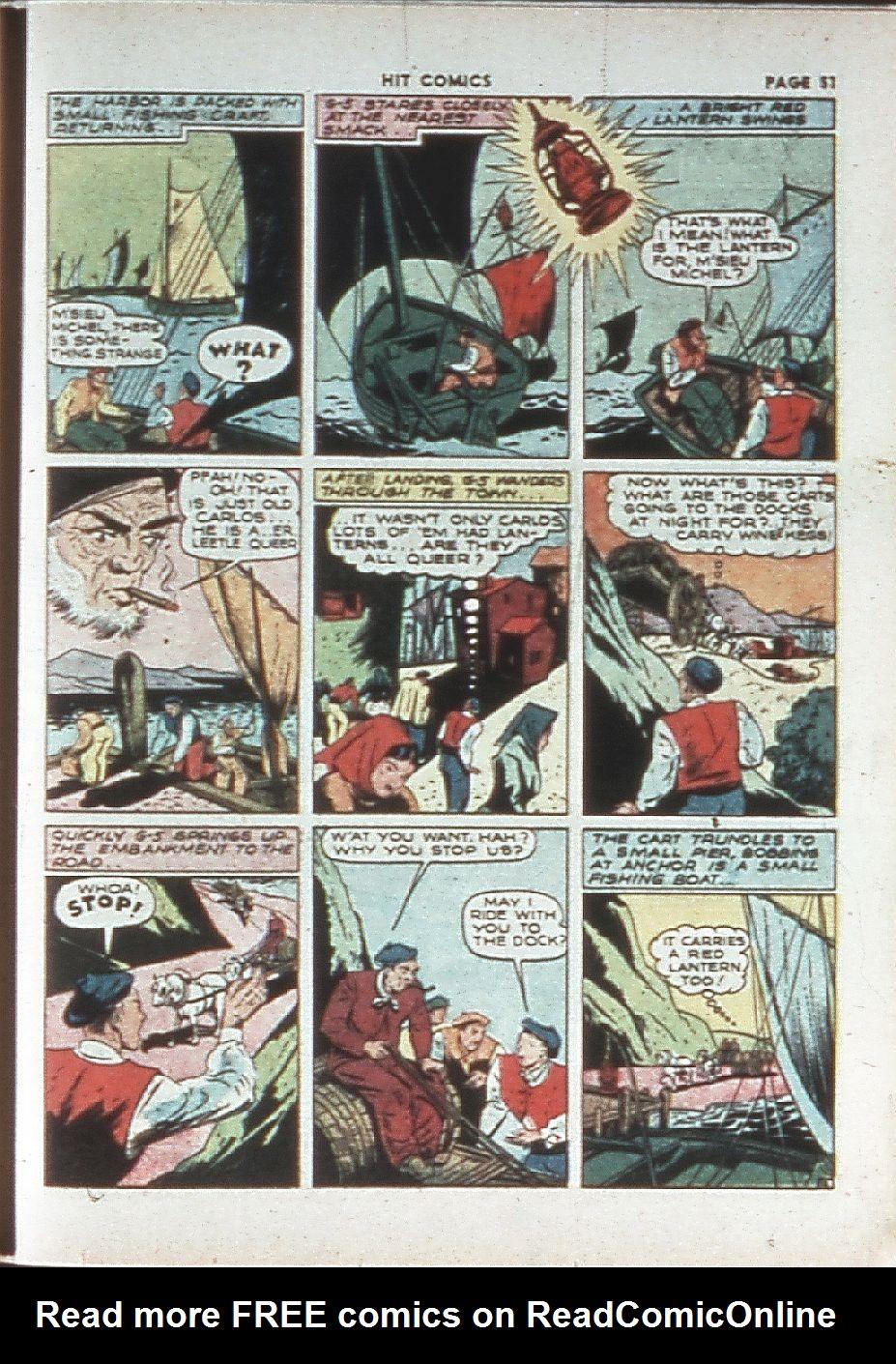 Read online Hit Comics comic -  Issue #10 - 53
