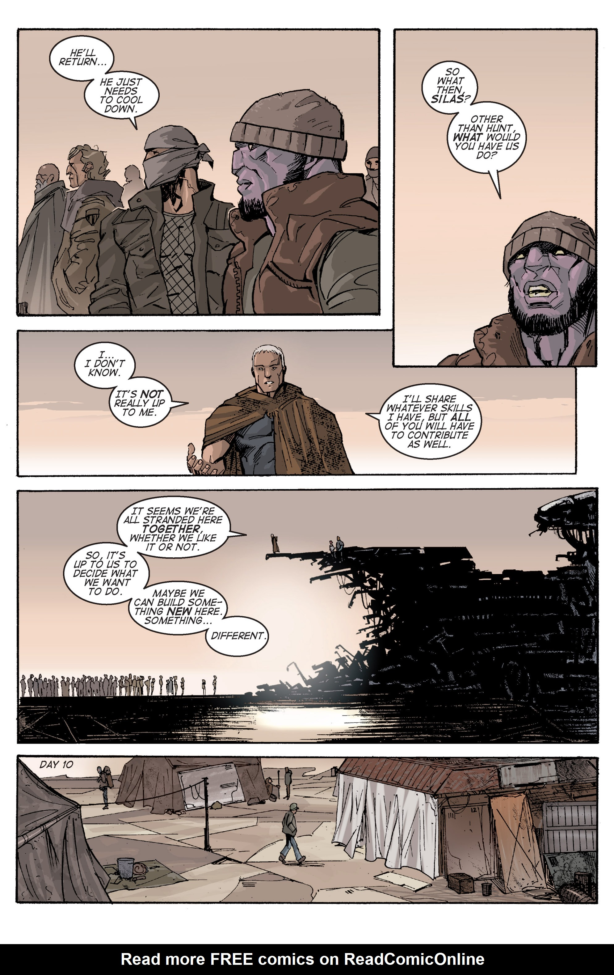 Read online Planetoid comic -  Issue # TPB - 80