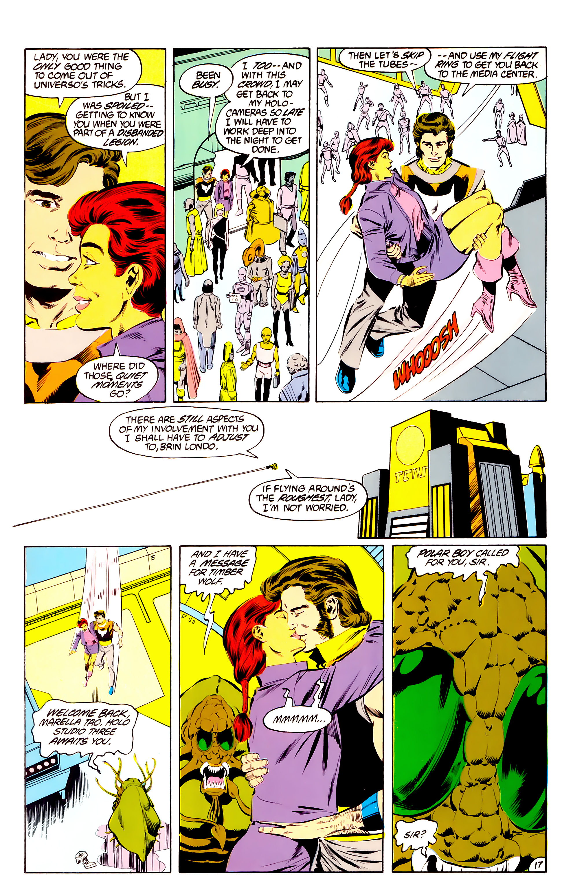 Legion of Super-Heroes (1984) 36 Page 17