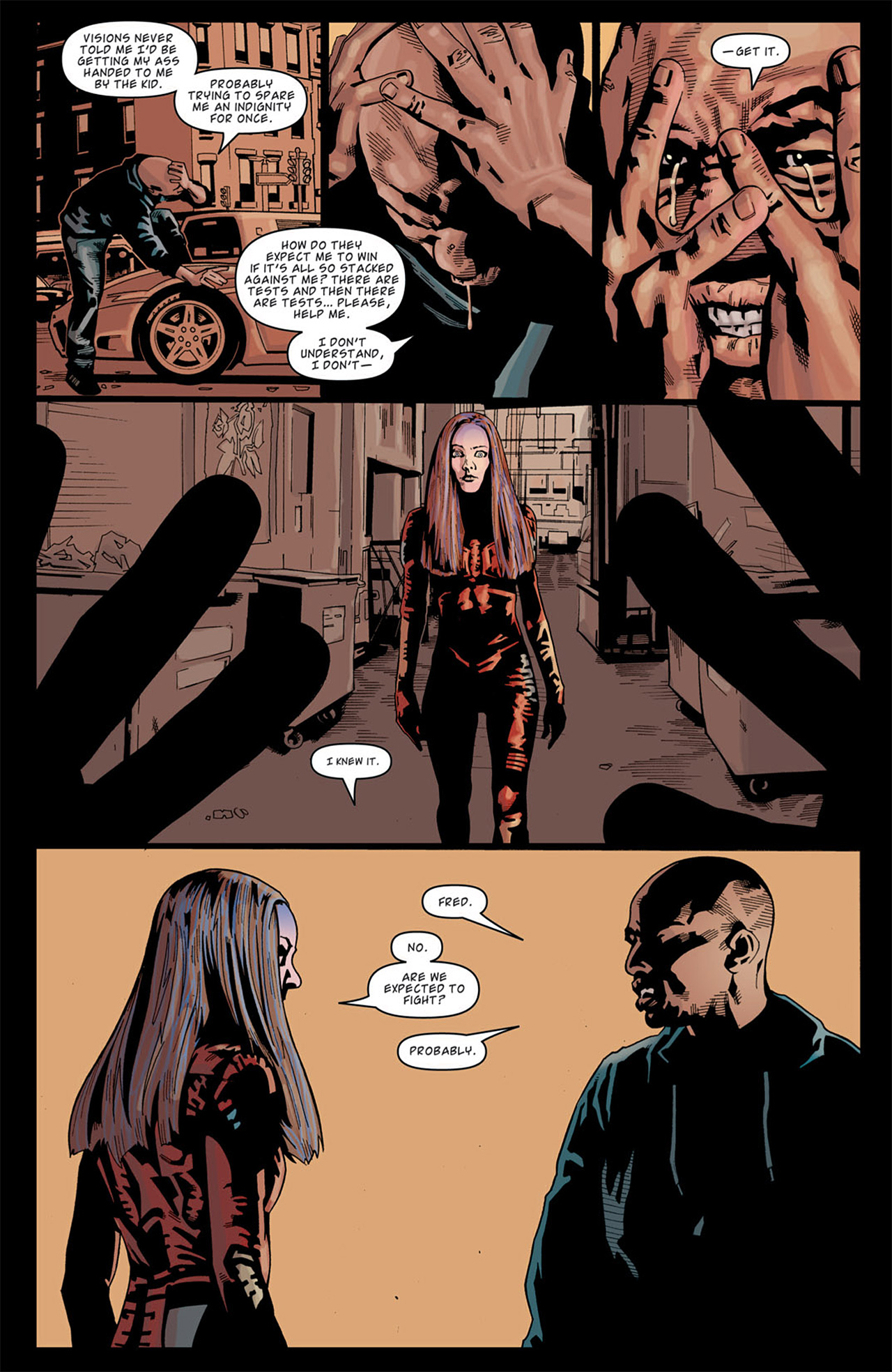 Read online Angel: After The Fall comic -  Issue #13 - 21