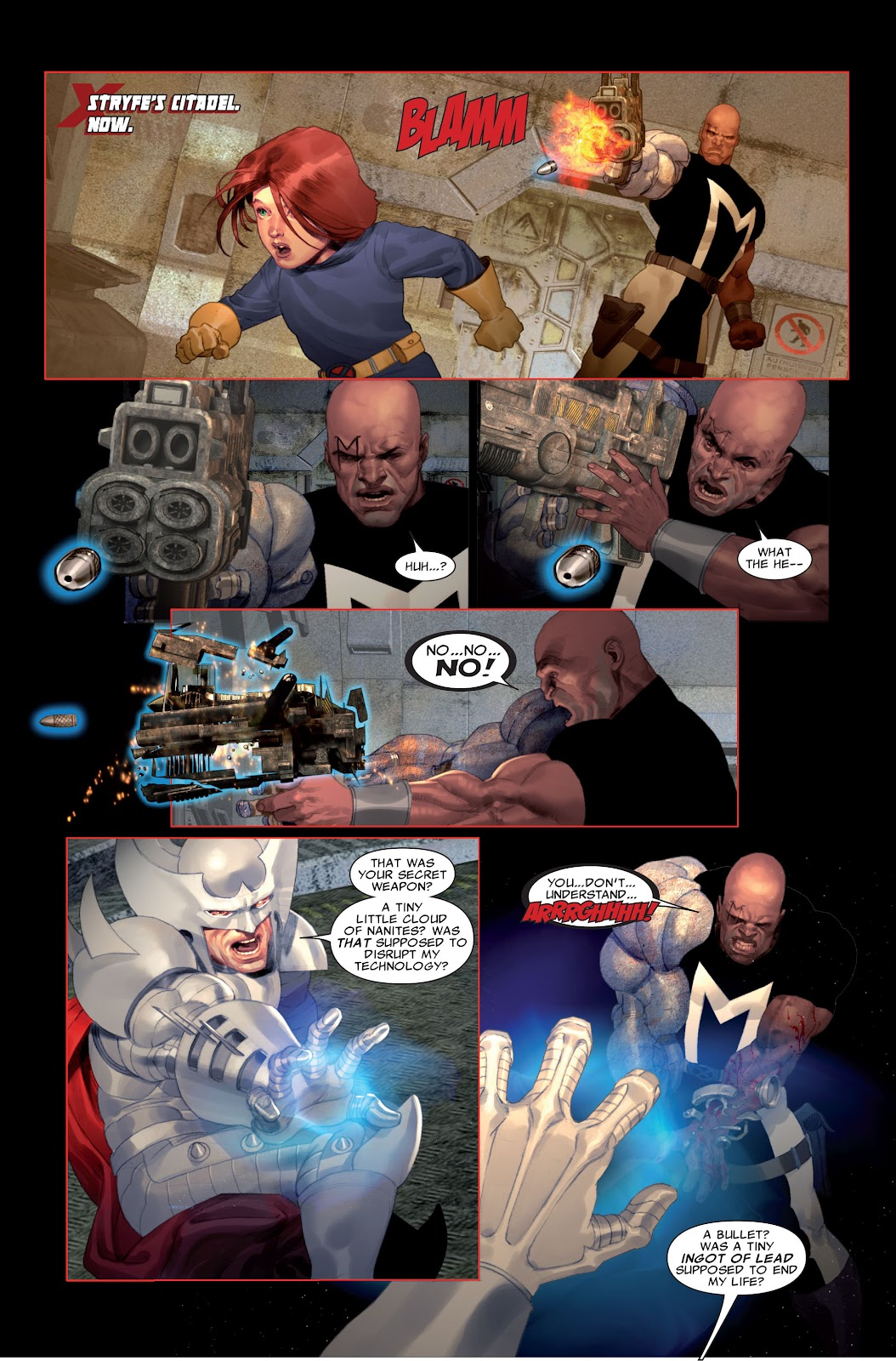 Read online X-Force/Cable: Messiah War comic -  Issue # _TPB (Part 2) - 57