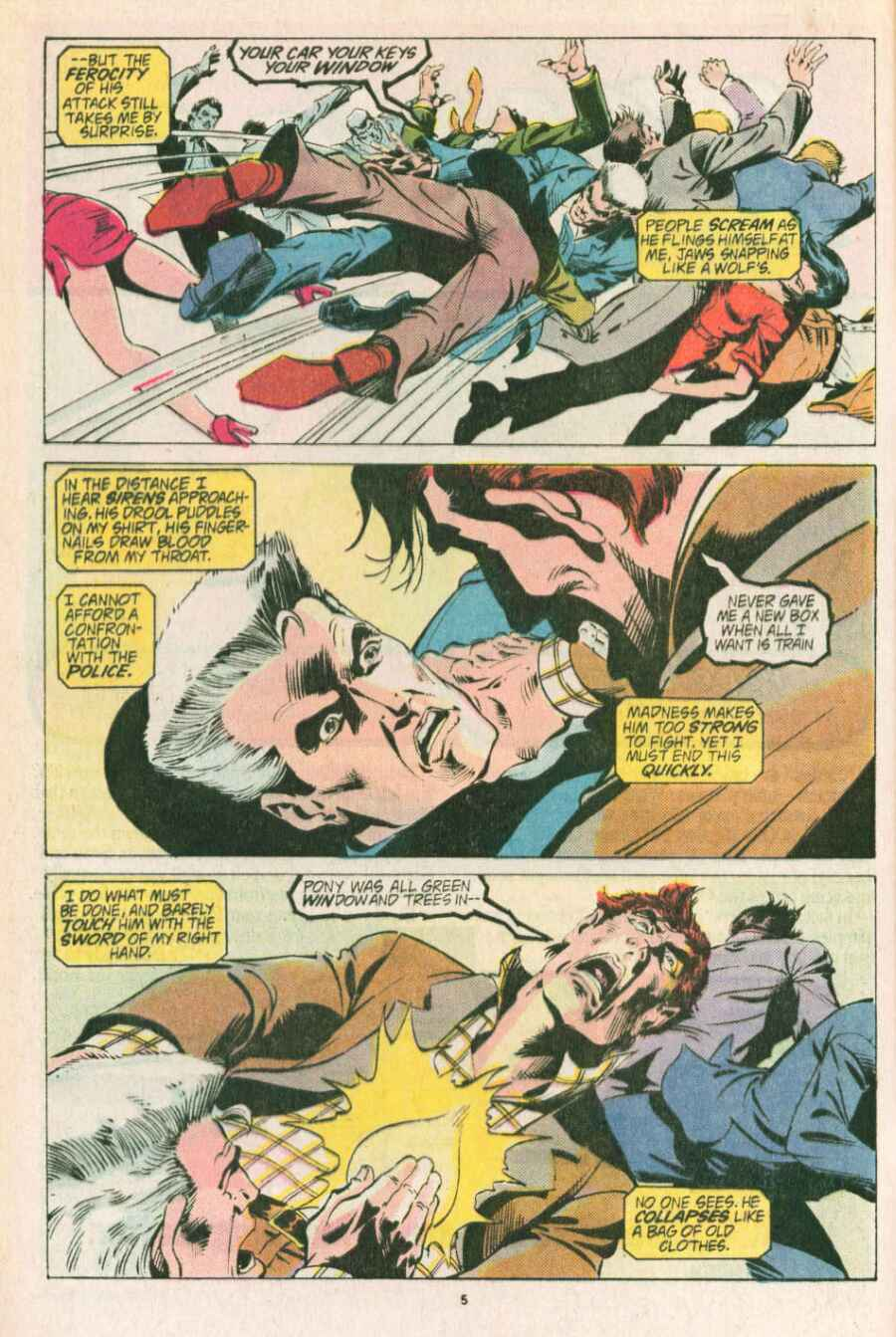 Read online Justice (1986) comic -  Issue #13 - 6