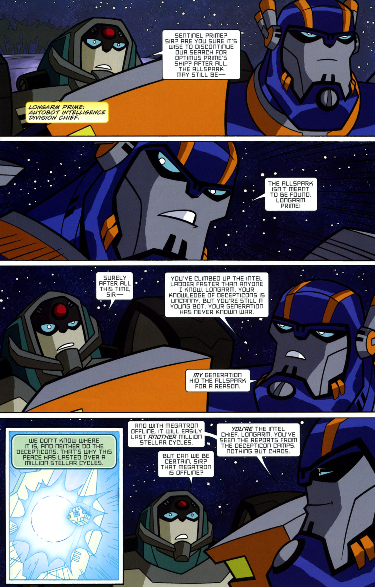 Read online Transformers Animated: The Arrival comic -  Issue #1 - 10