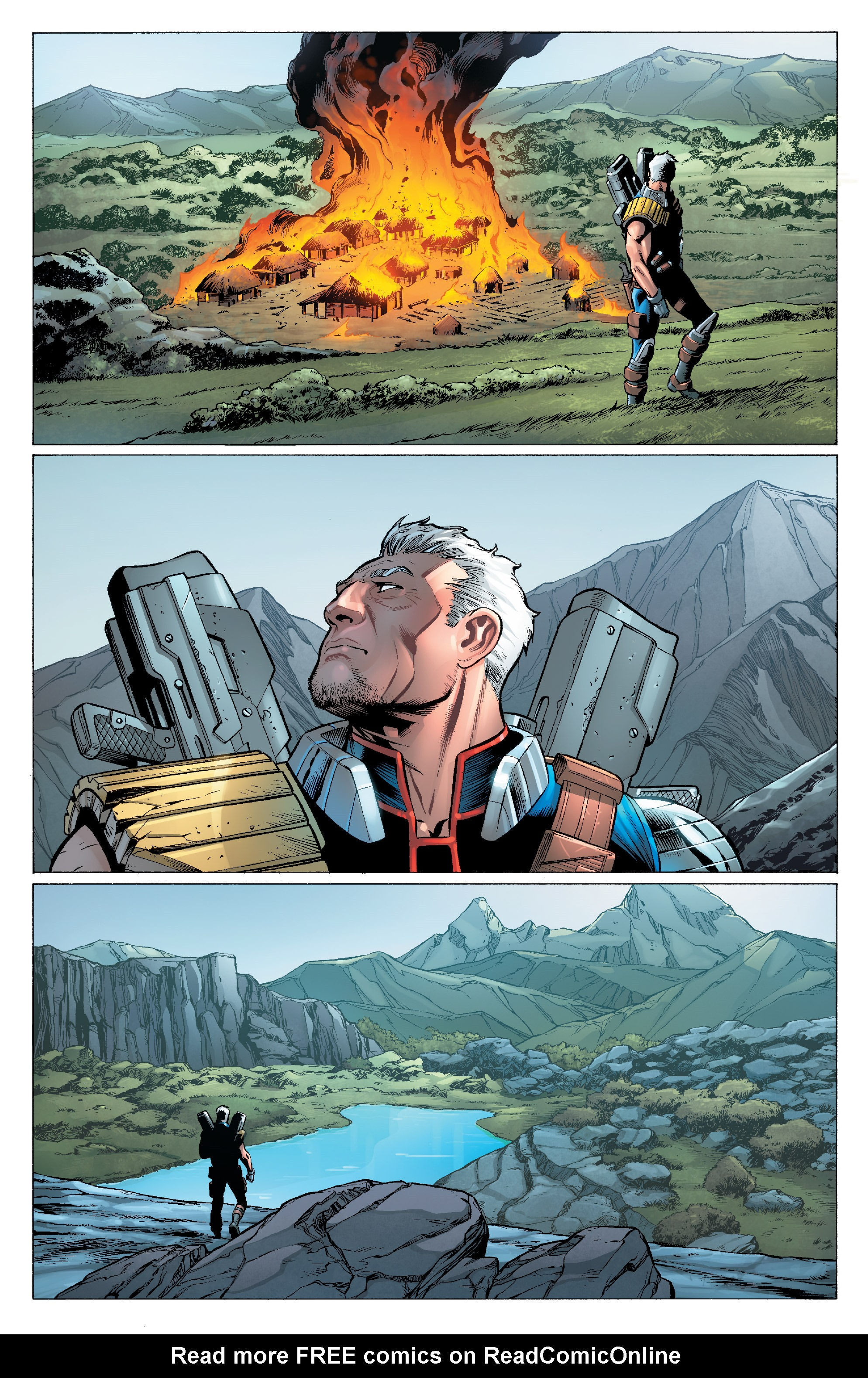 Read online Cable (2017) comic -  Issue #1 - 15