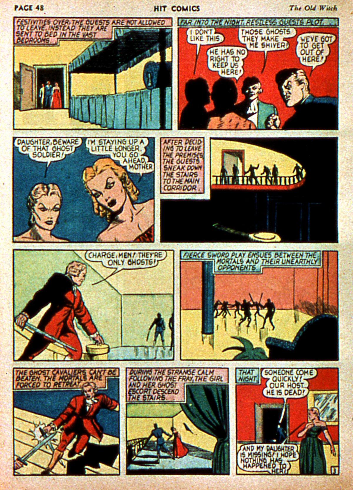 Read online Hit Comics comic -  Issue #3 - 50