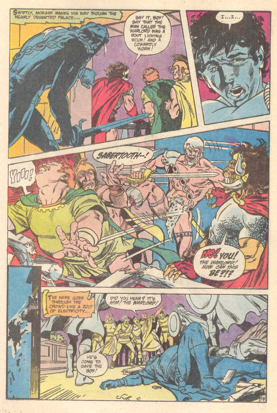 Warlord (1976) issue 89 - Page 18