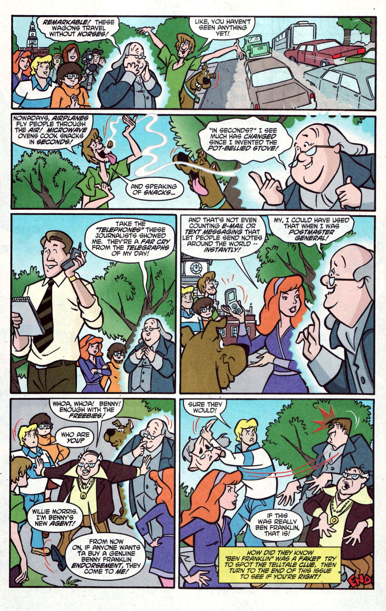 Read online Scooby-Doo (1997) comic -  Issue #122 - 15