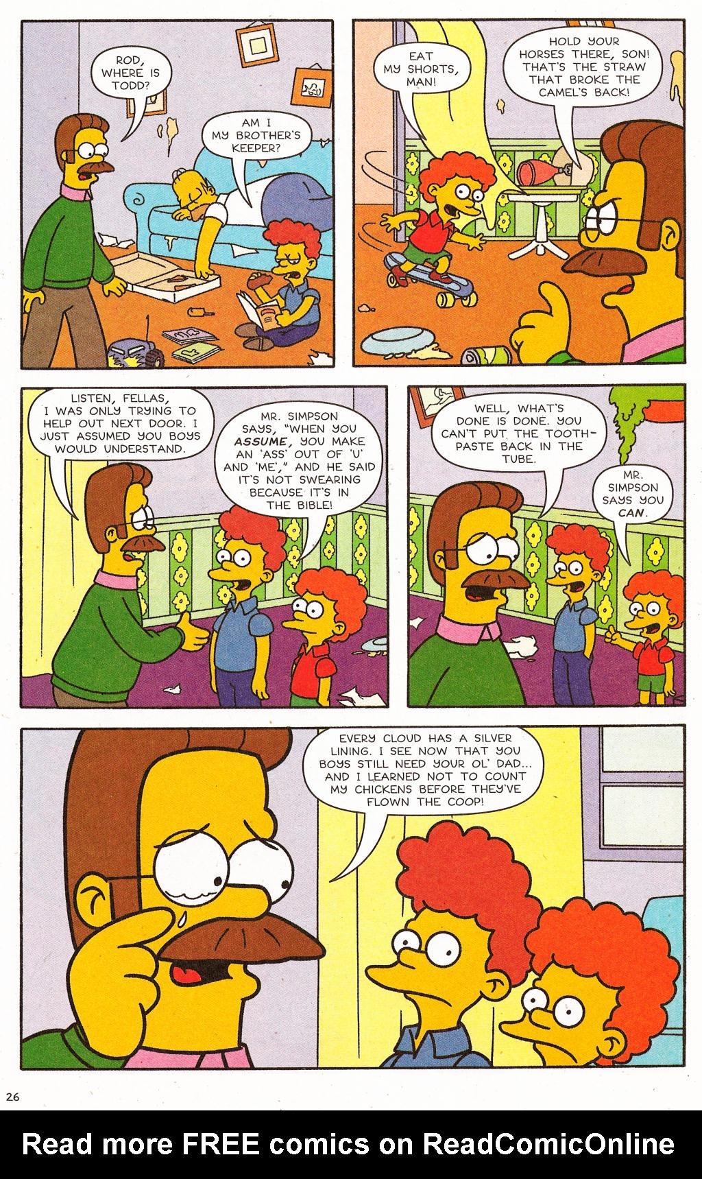 Read online Simpsons Comics comic -  Issue #124 - 22