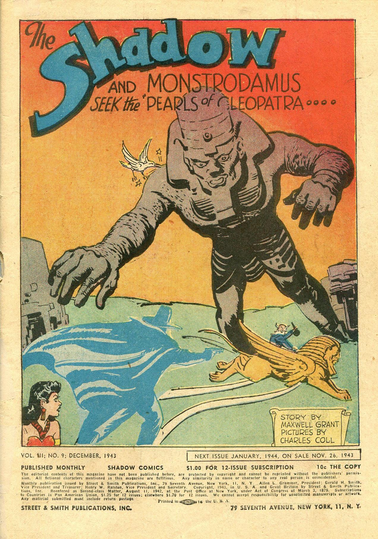 Read online Shadow Comics comic -  Issue #33 - 3