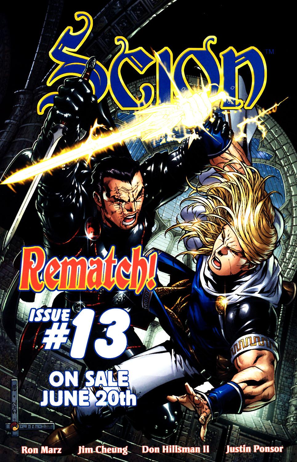 Read online Scion comic -  Issue #12 - 26