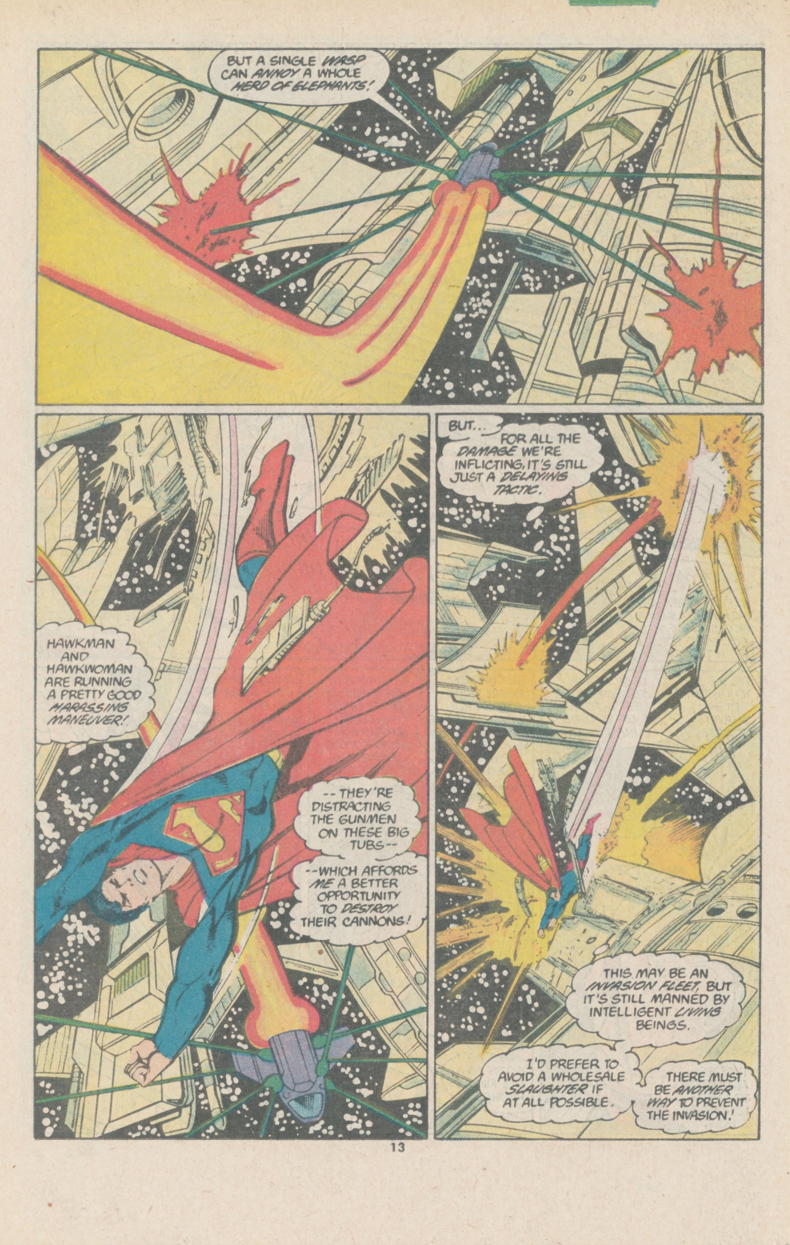 Read online Action Comics (1938) comic -  Issue #588 - 19
