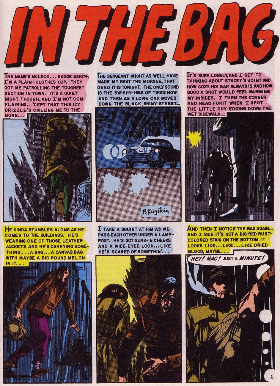 Read online Shock SuspenStories comic -  Issue #18 - 19