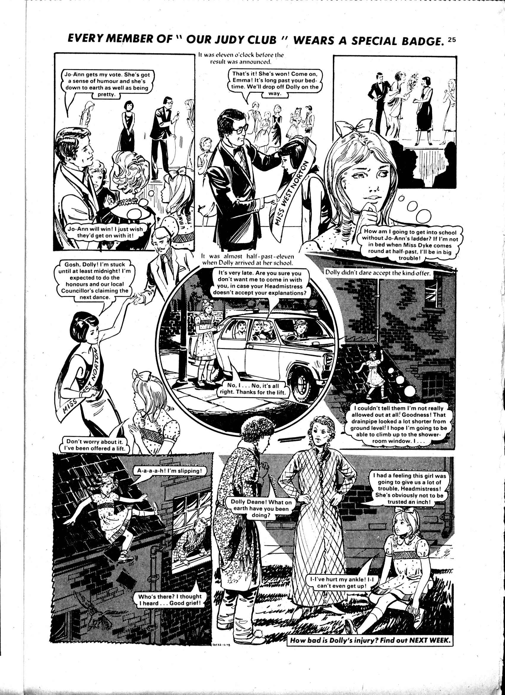 Read online Judy comic -  Issue #989 - 25