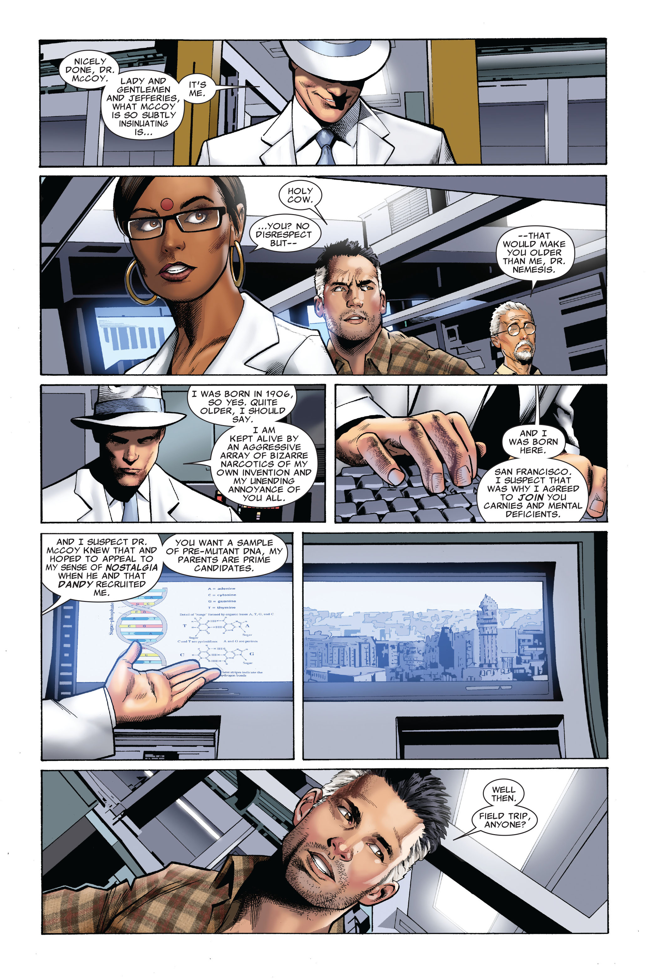 Read online Uncanny X-Men (1963) comic -  Issue #509 - 13