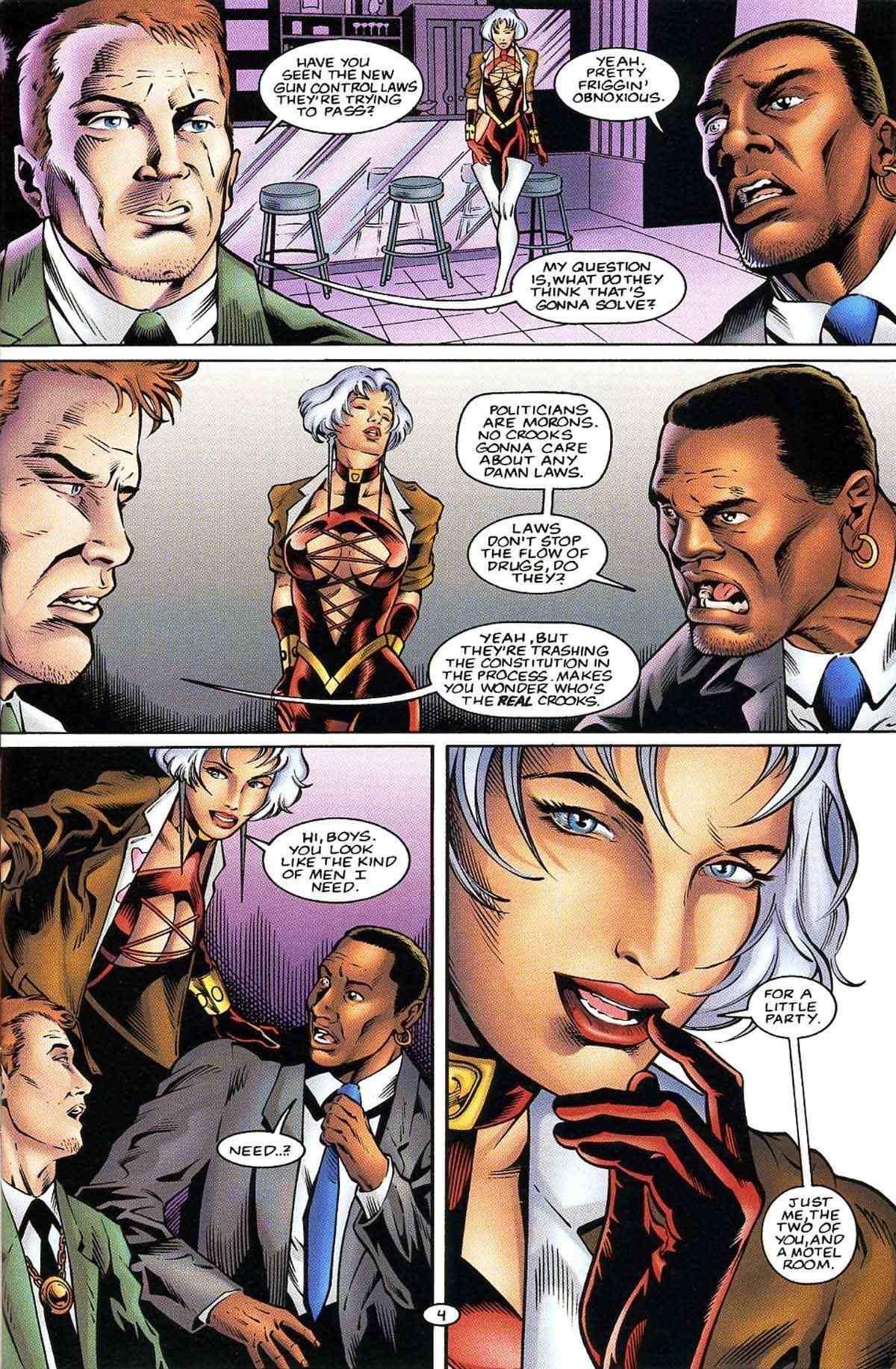 Read online Ultraverse Premiere comic -  Issue #10 - 15
