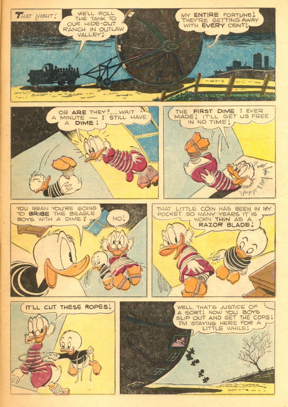 Read online Uncle Scrooge (1953) comic -  Issue #3 - 33