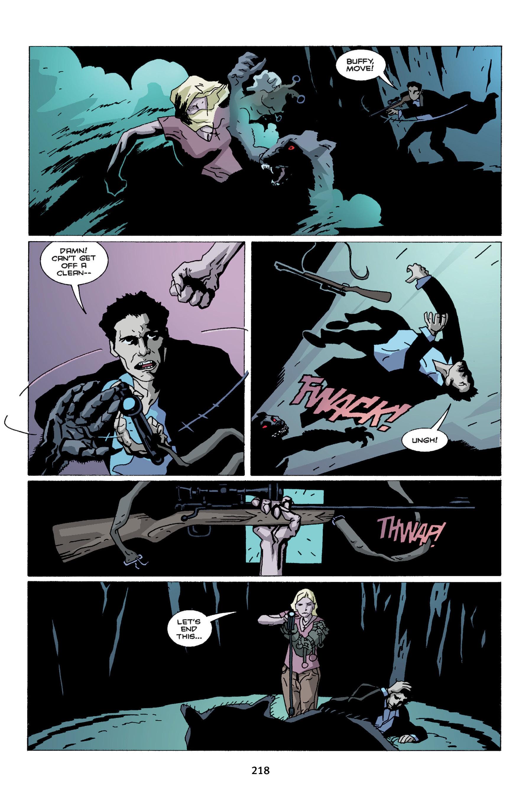 Read online Buffy the Vampire Slayer: Omnibus comic -  Issue # TPB 4 - 216