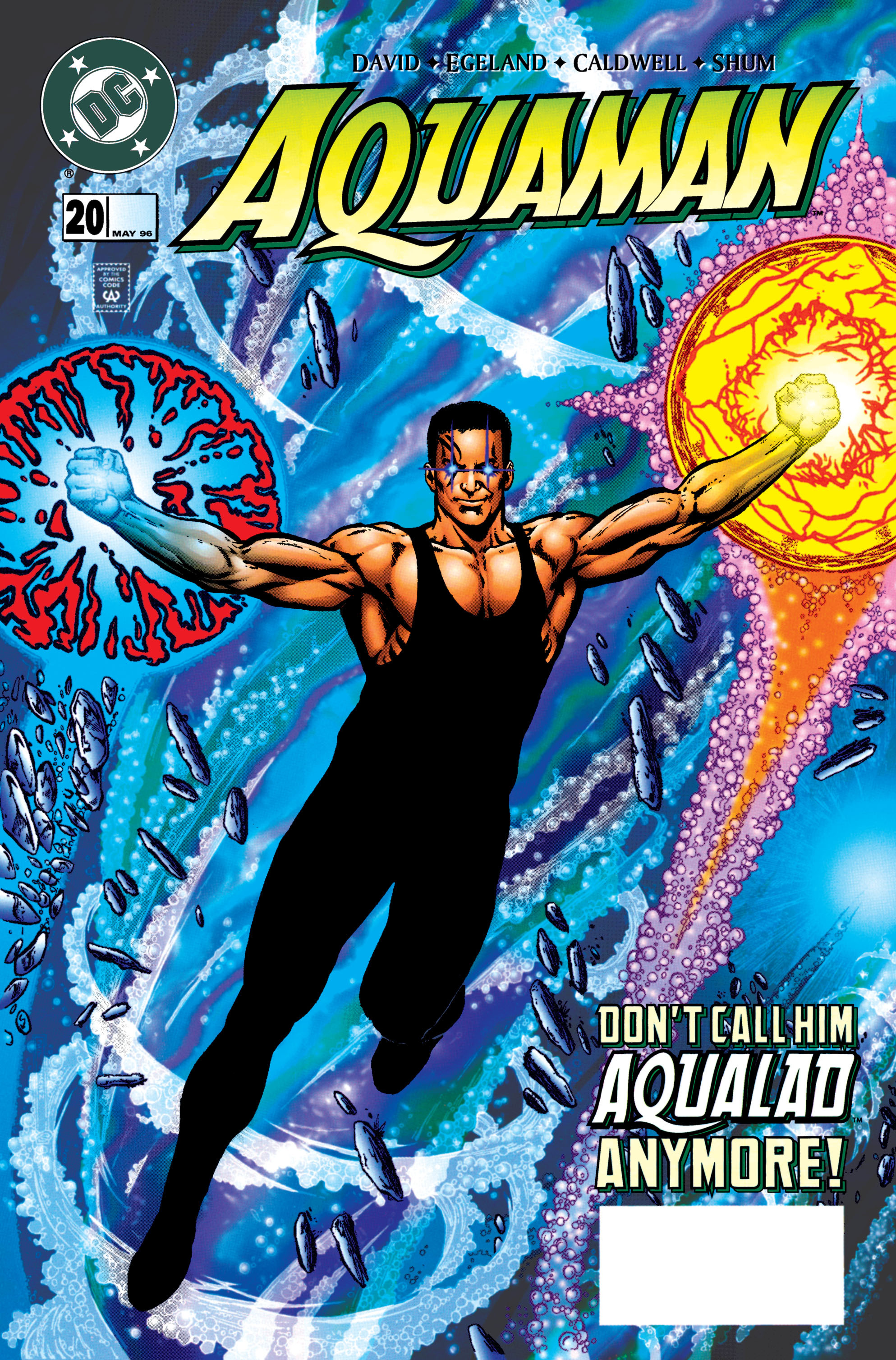 Read online Aquaman (1994) comic -  Issue #20 - 1