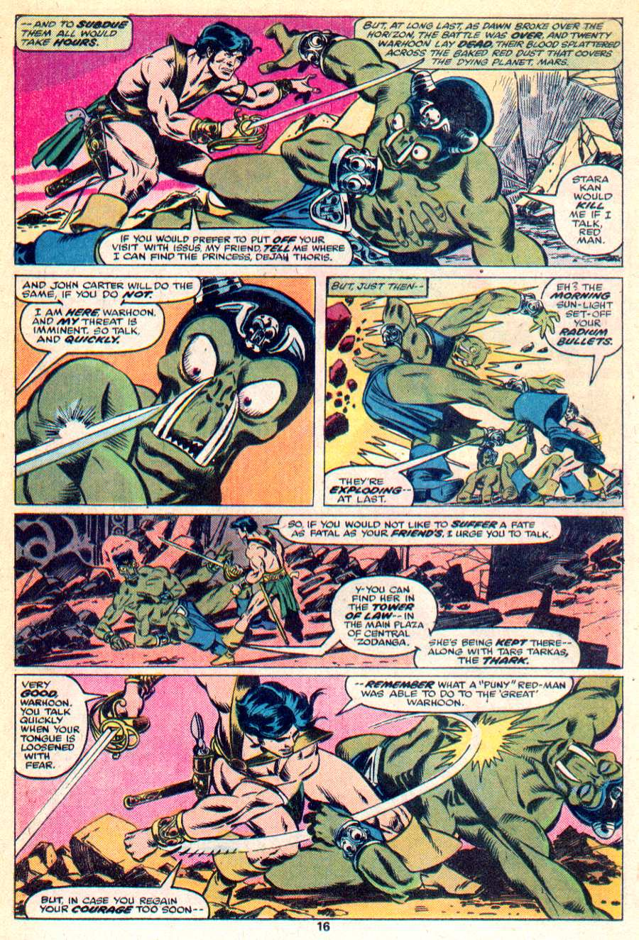 John Carter Warlord of Mars issue 1 - Page 11