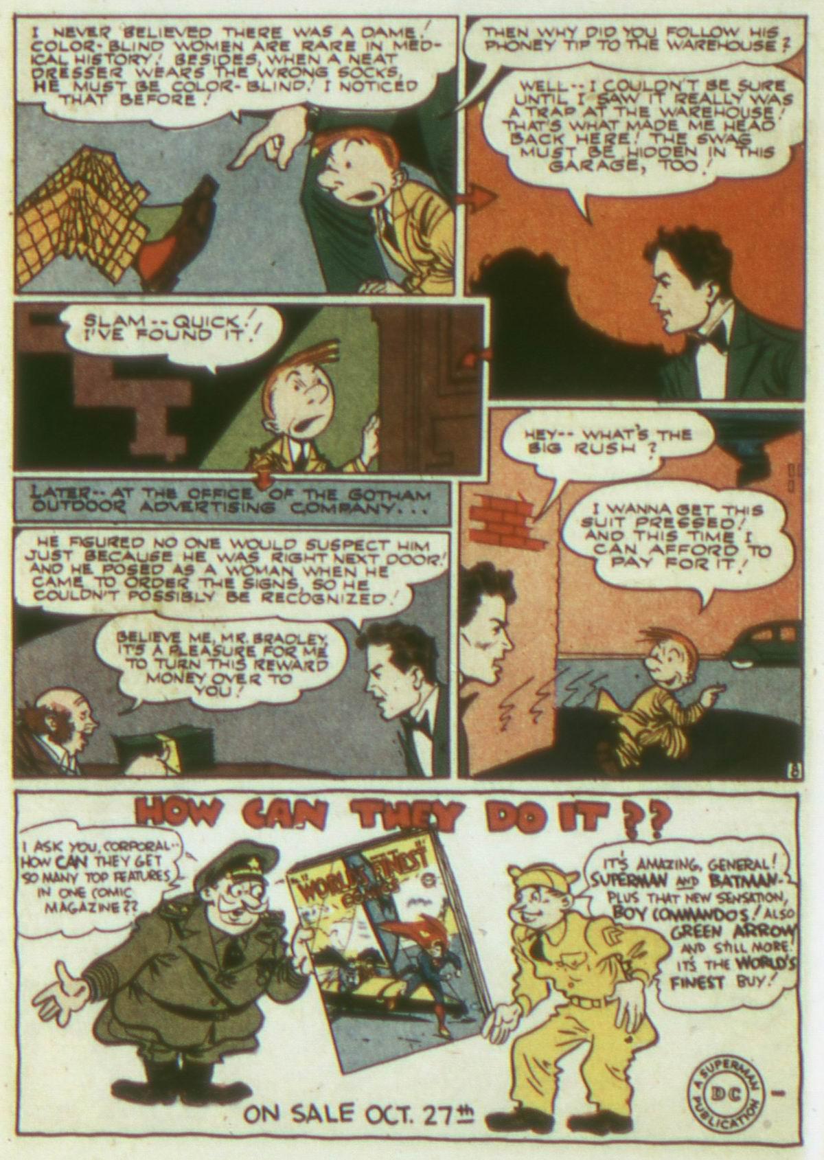 Read online Detective Comics (1937) comic -  Issue #82 - 24