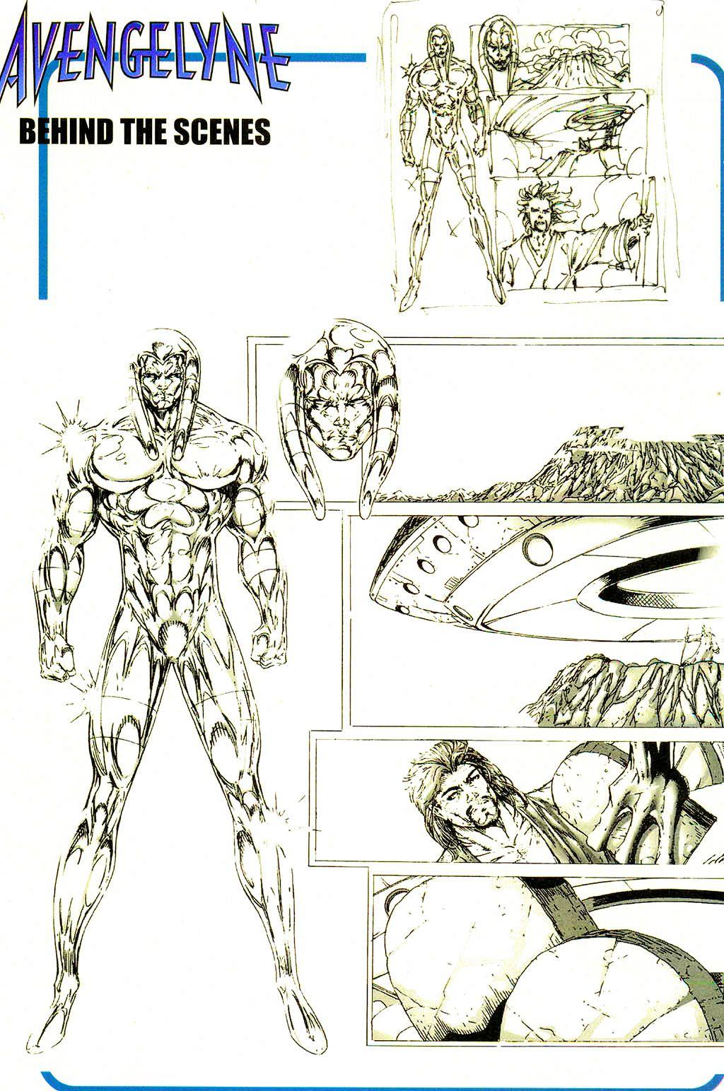 Read online Avengelyne (1999) comic -  Issue #Avengelyne (1999) Full - 21