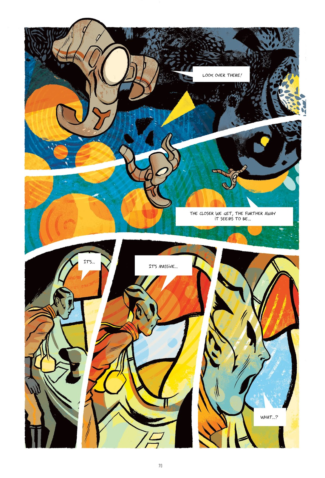 Read online Infinity 8 comic -  Issue # _TPB 3 - 70