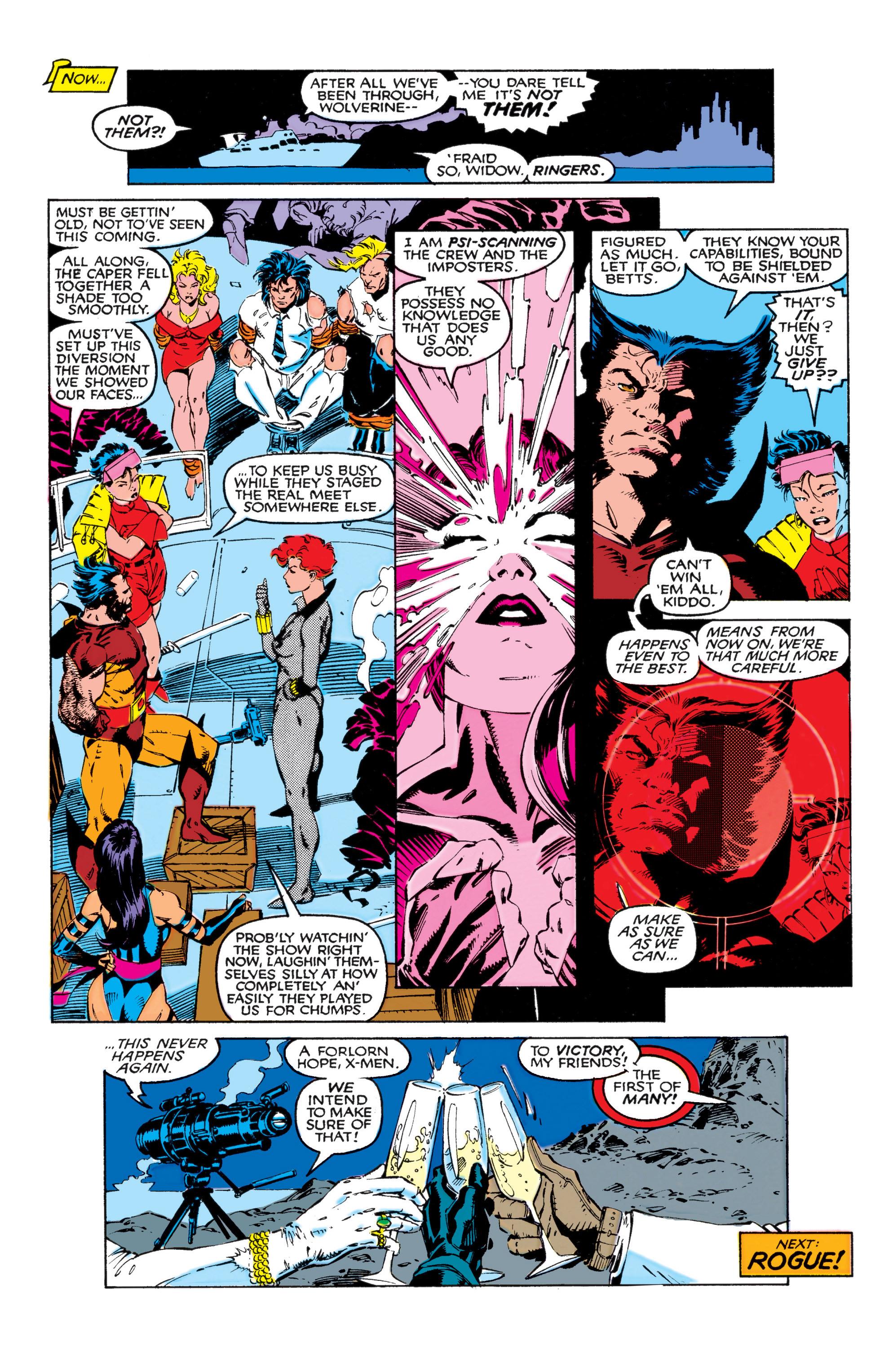 Read online Uncanny X-Men (1963) comic -  Issue #268 - 23