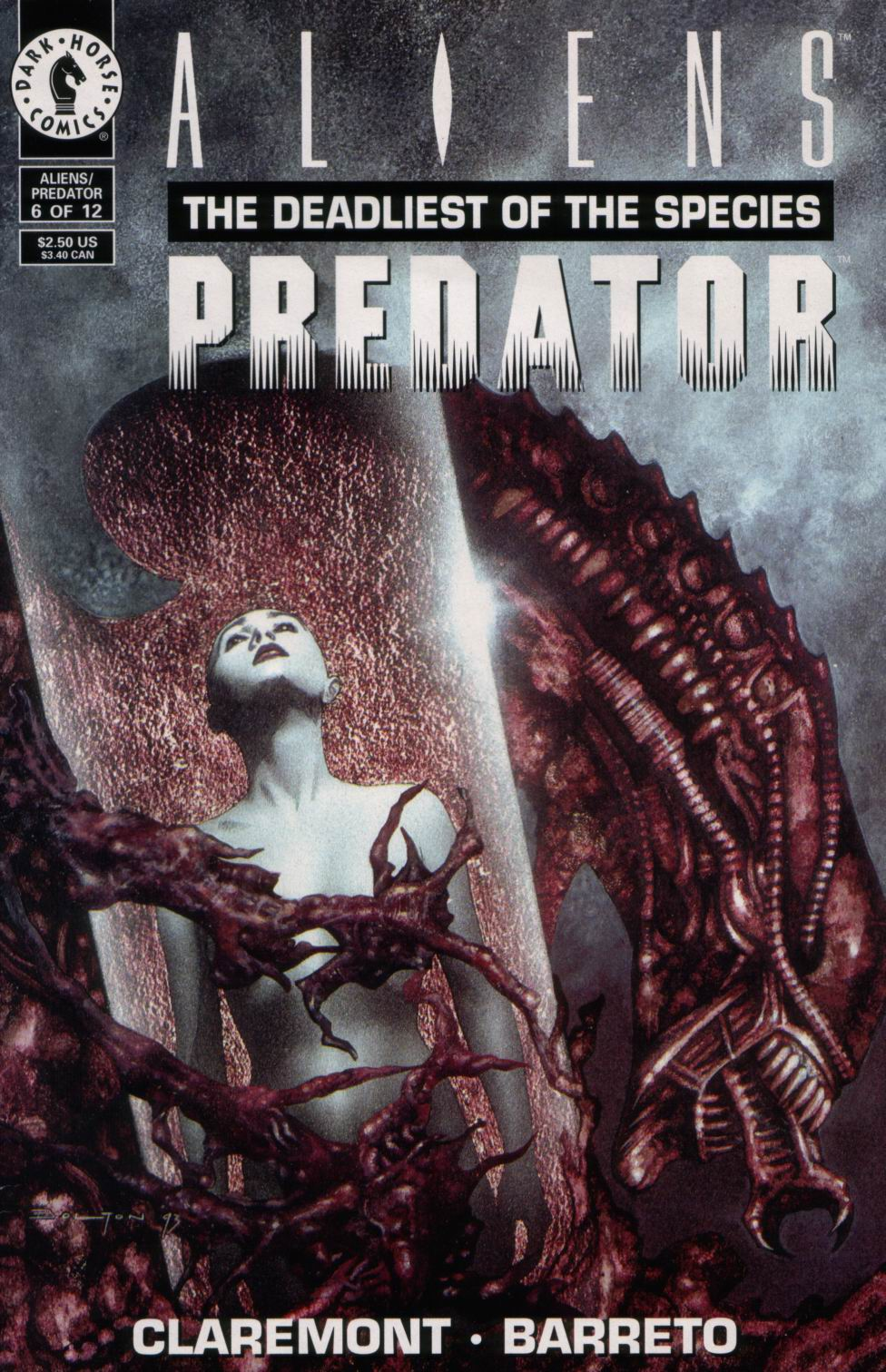 Aliens/Predator: The Deadliest of the Species 6 Page 1