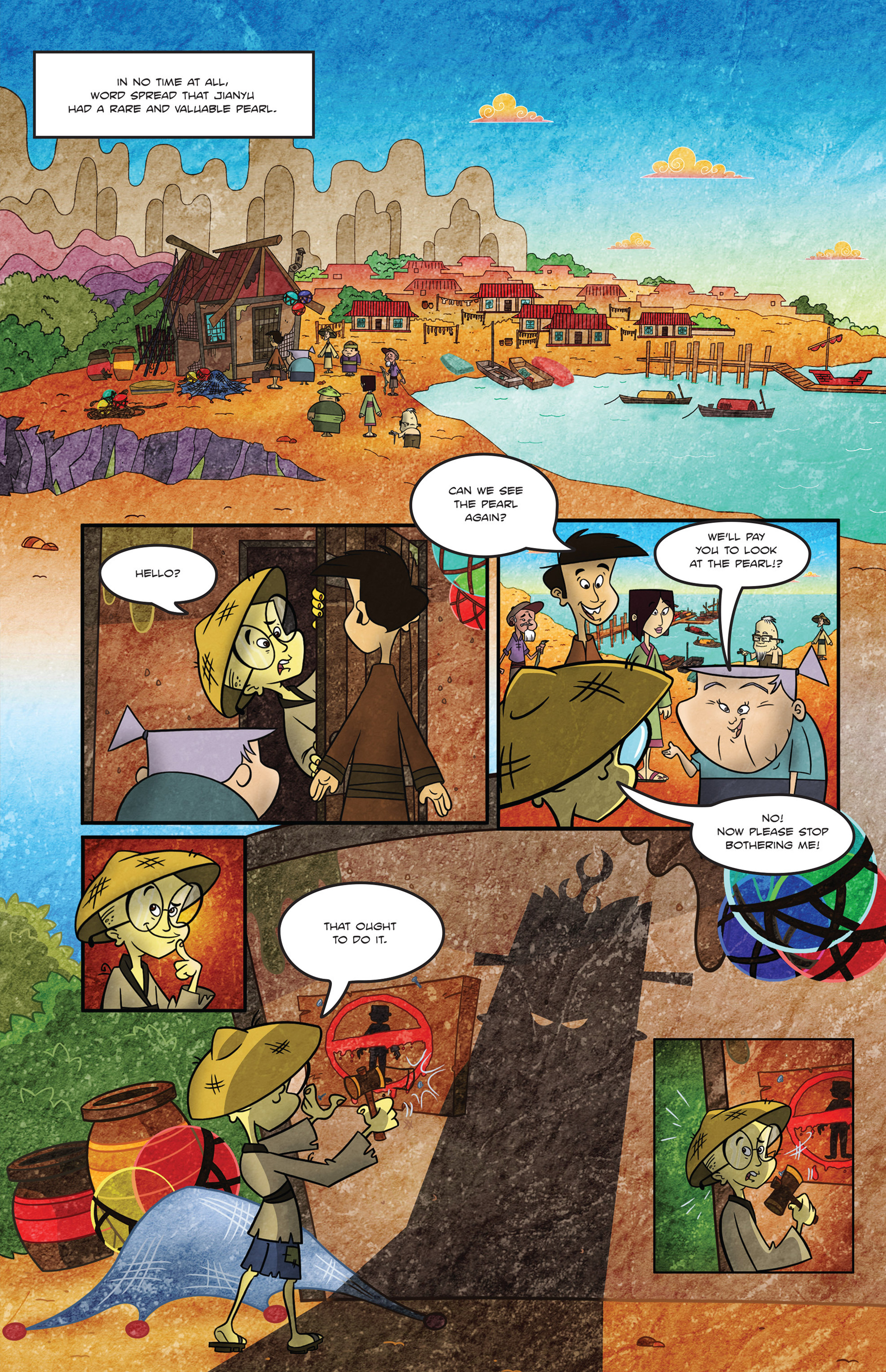 Read online 1001 Nights comic -  Issue #1 - 7