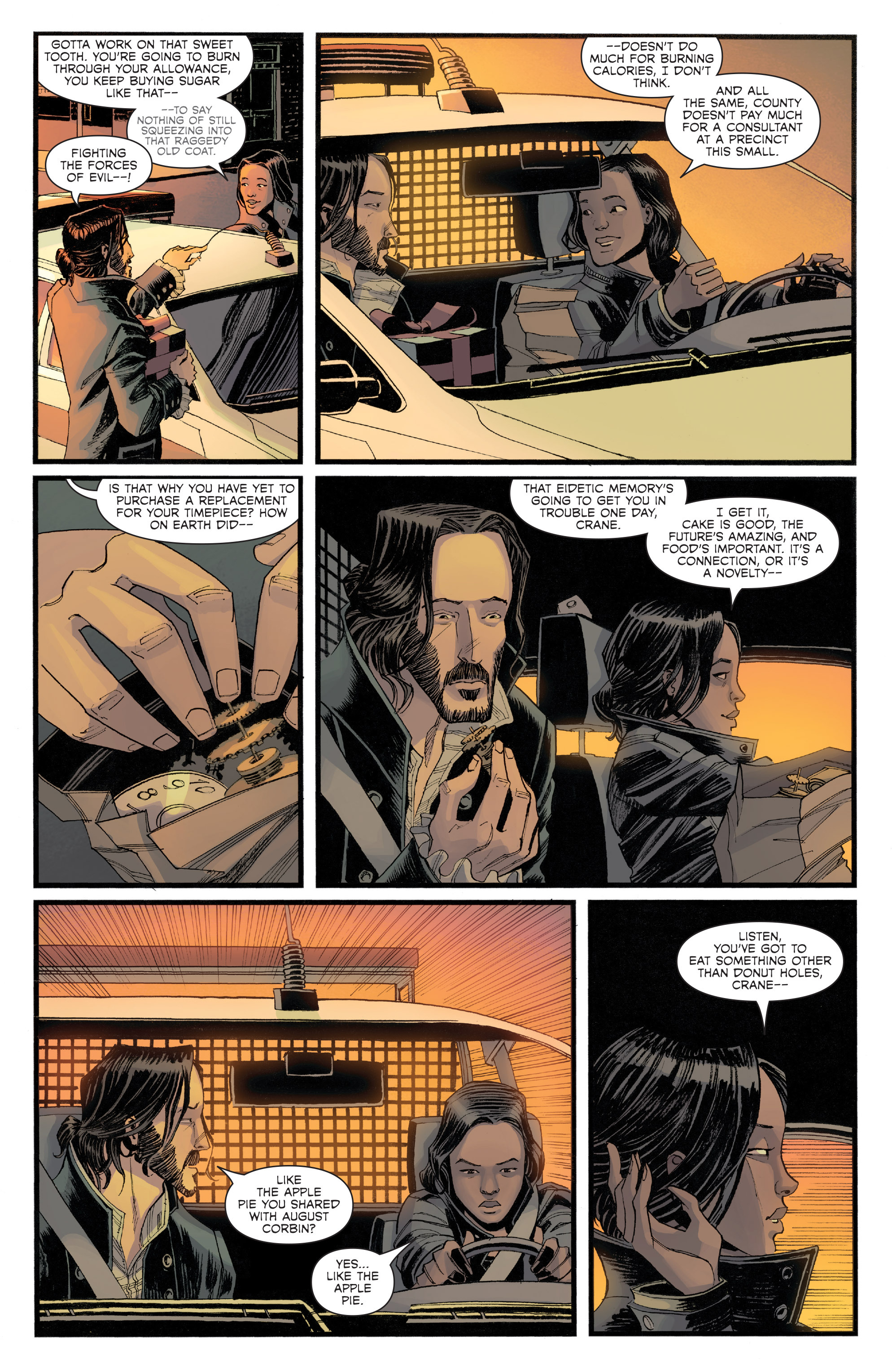 Read online Sleepy Hollow (2014) comic -  Issue #1 - 5