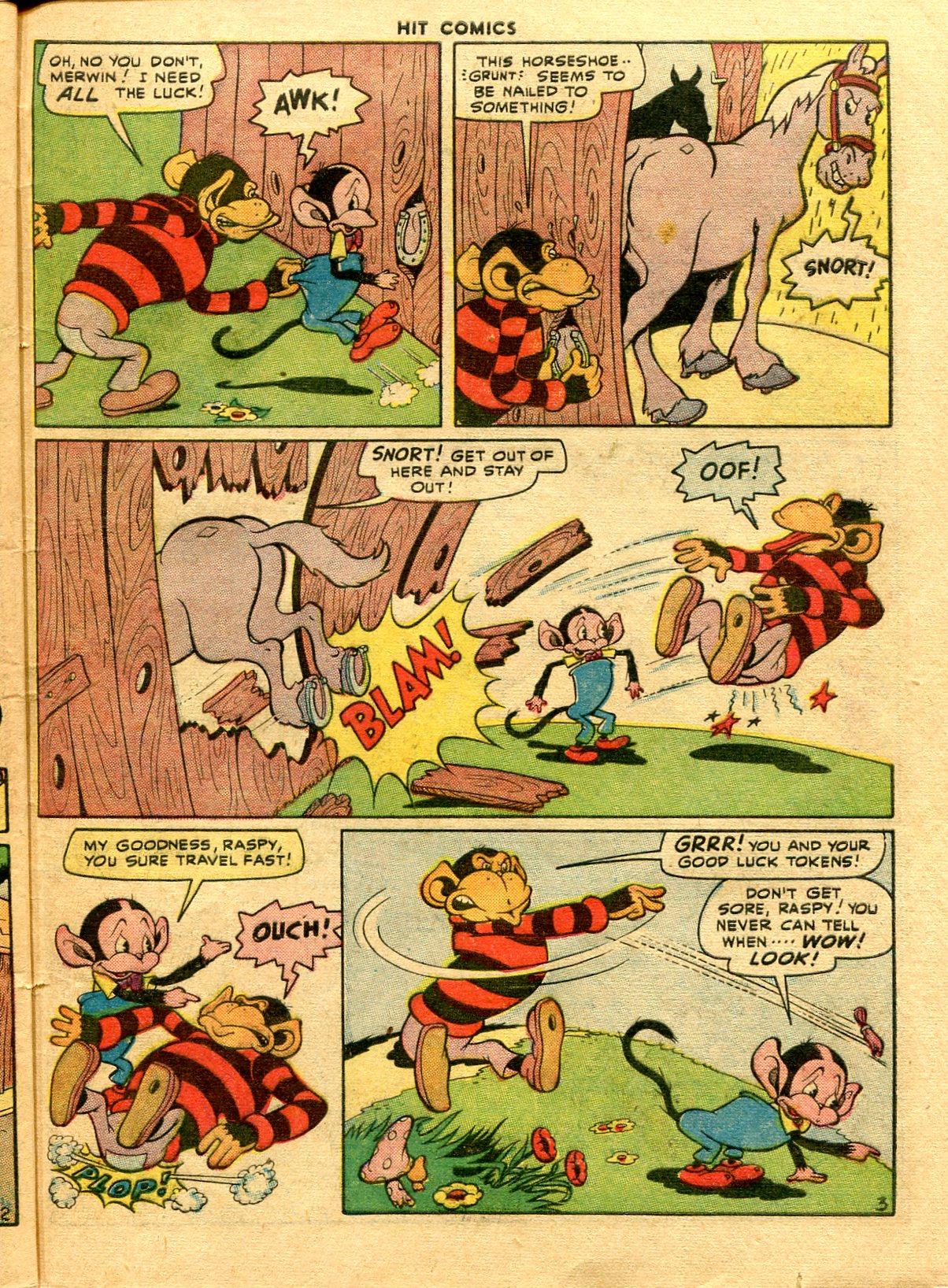 Read online Hit Comics comic -  Issue #48 - 47