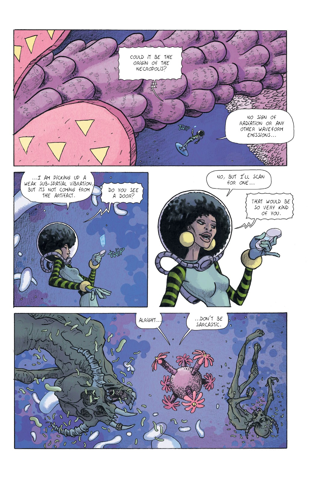 Read online Infinity 8 comic -  Issue #11 - 6